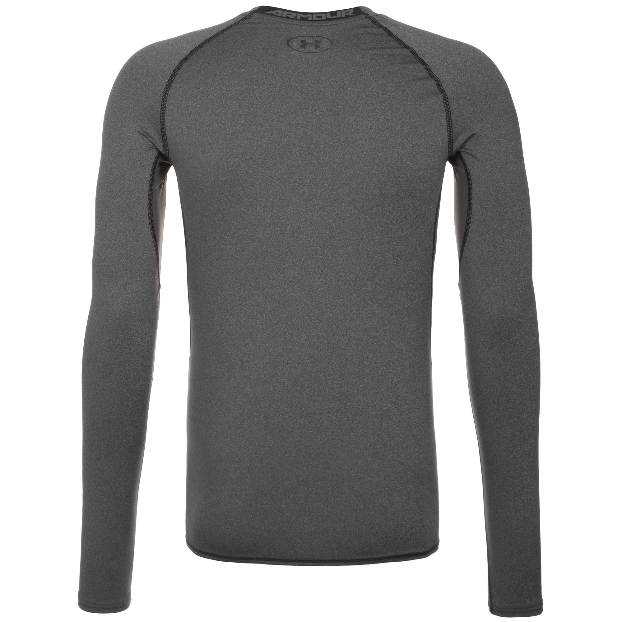 UNDER ARMOUR, Heren Functioneel shirt 'HeatGear Compression', grijs