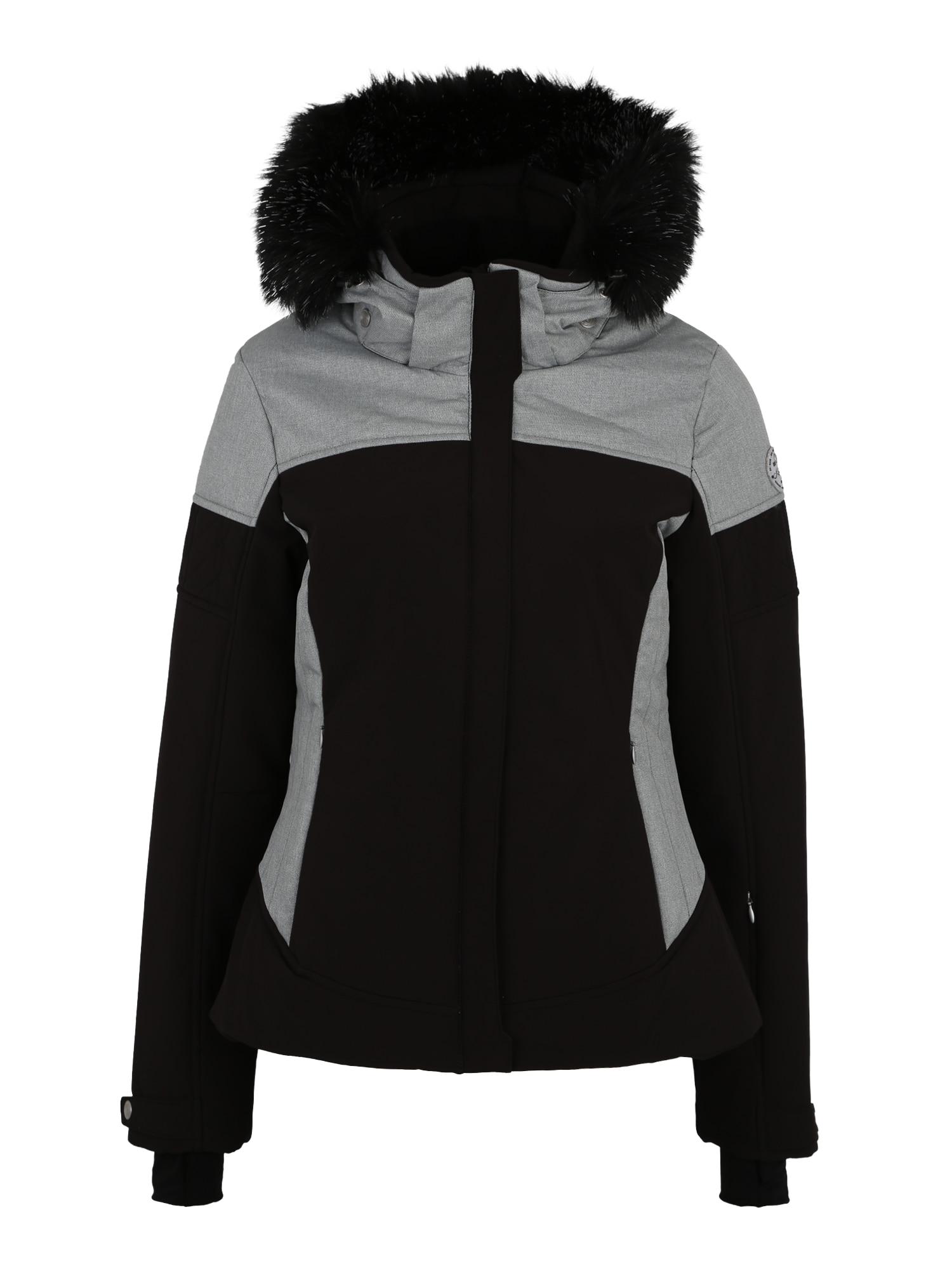 Sportovní bunda Camira šedá černá KILLTEC