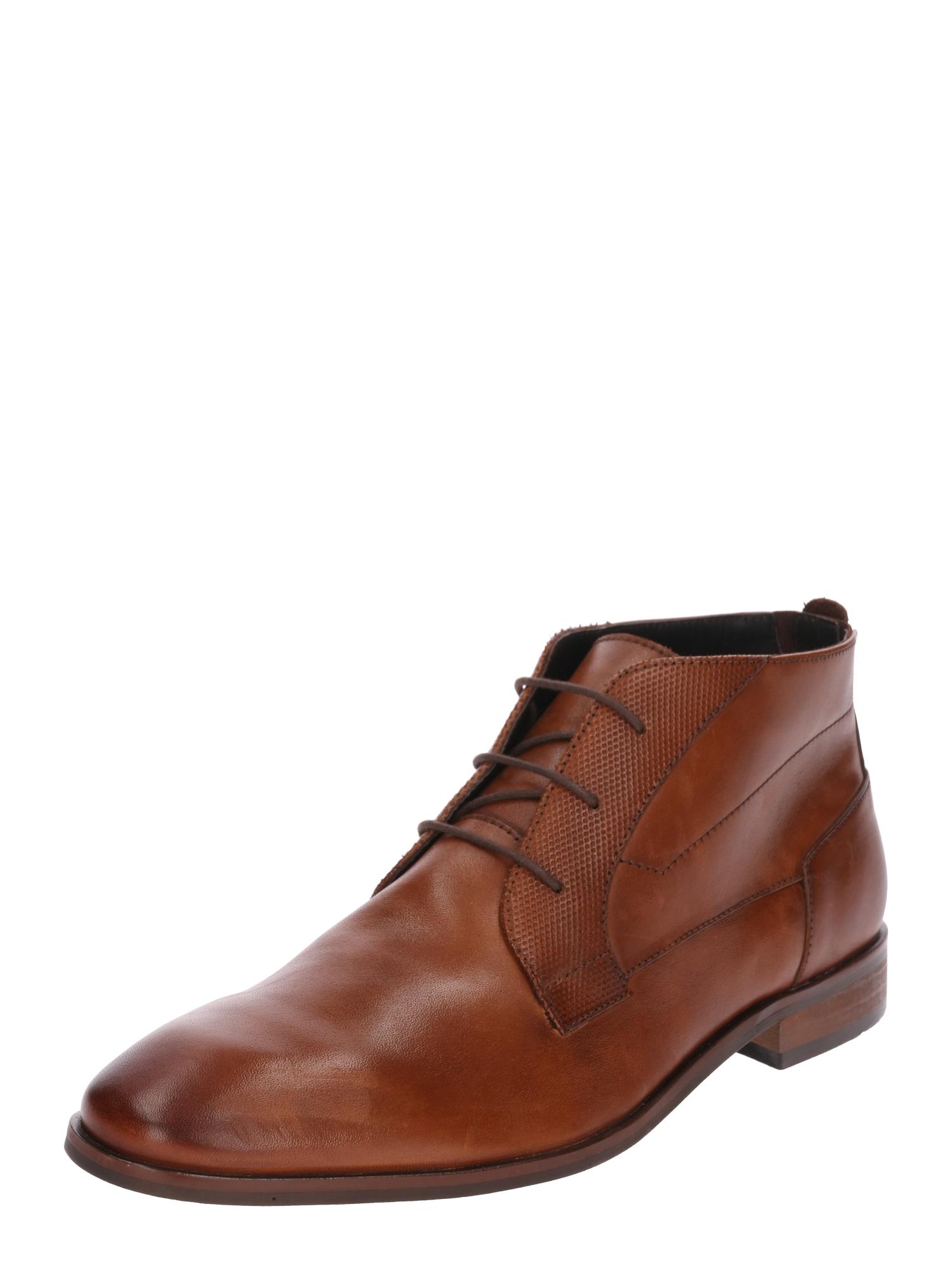 Šněrovací boty Joshua hnědá ABOUT YOU