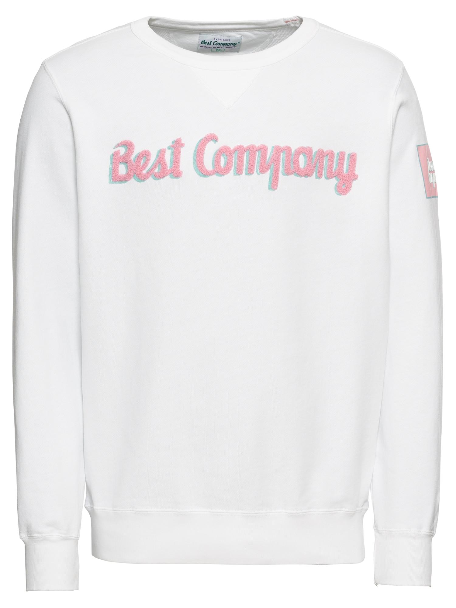 Mikina CREW bílá Best Company