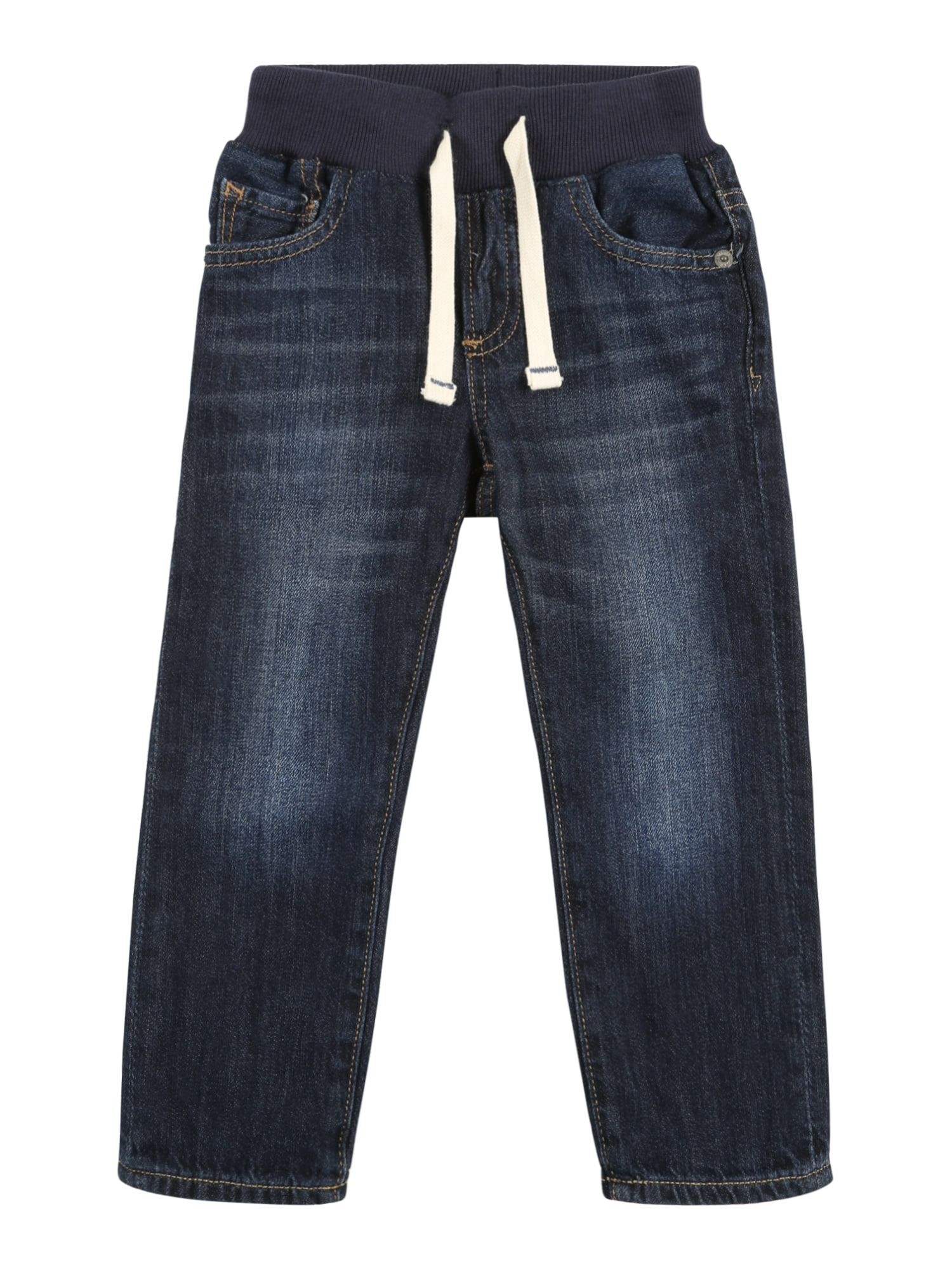 Slim Fit Jeans mit elastischem Bund