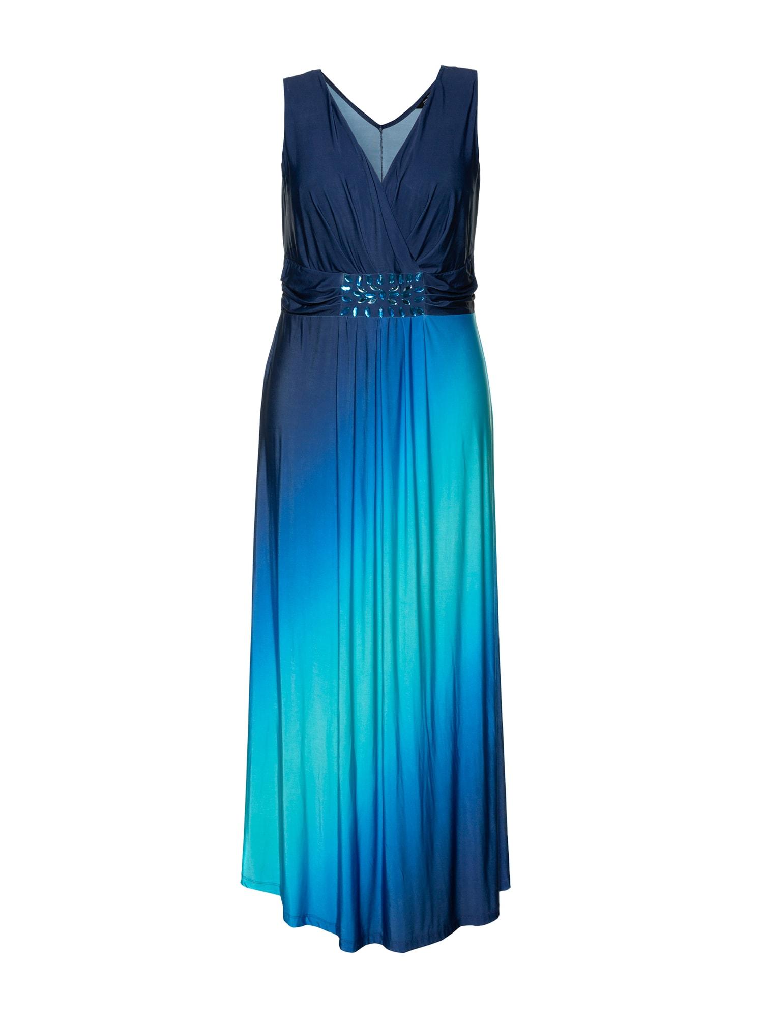 Letní šaty mix barev Ulla Popken