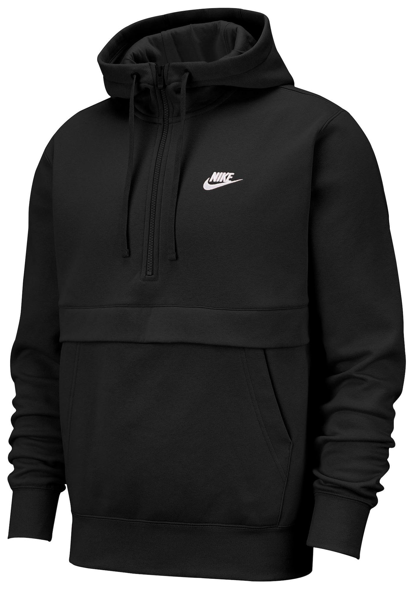 Nike Sportswear Mikina 'Club' čierna