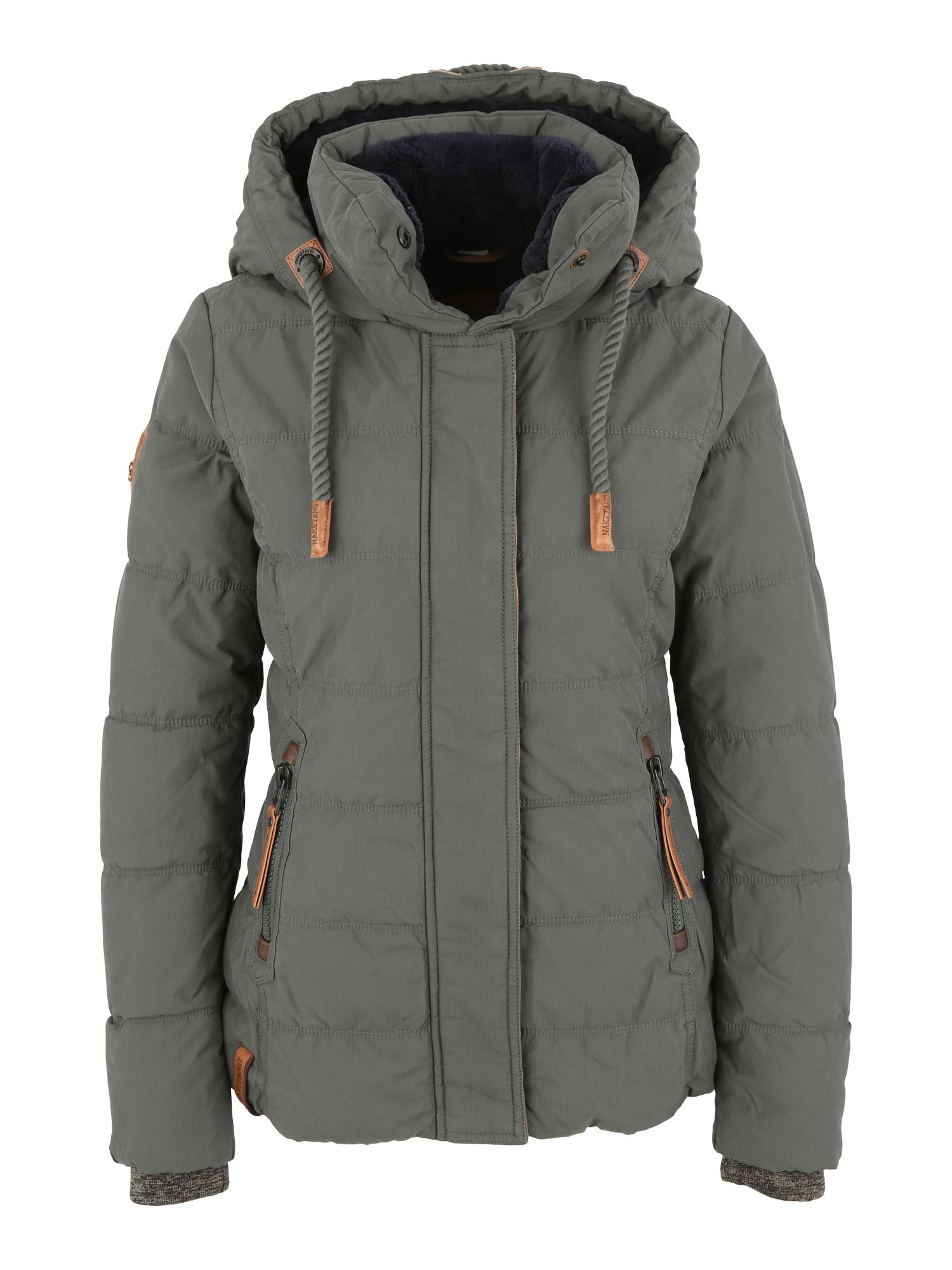 Zimní bunda Pronto Salvatore tmavě zelená Naketano