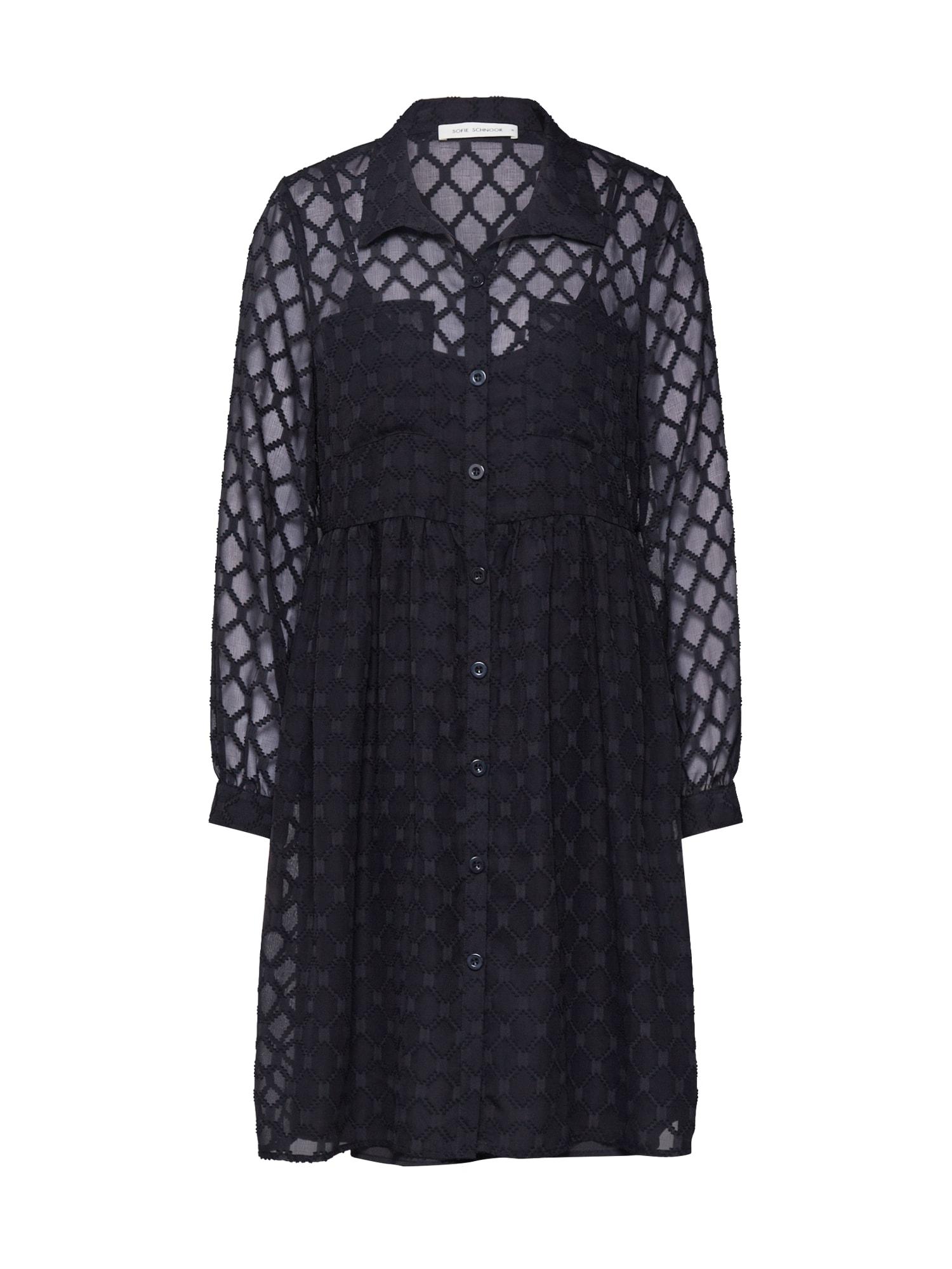 Sofie Schnoor Košeľové šaty  čierna