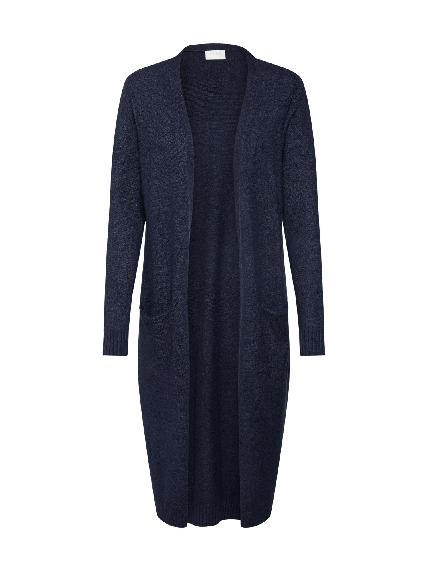 Pletený kabátek Ril noční modrá VILA