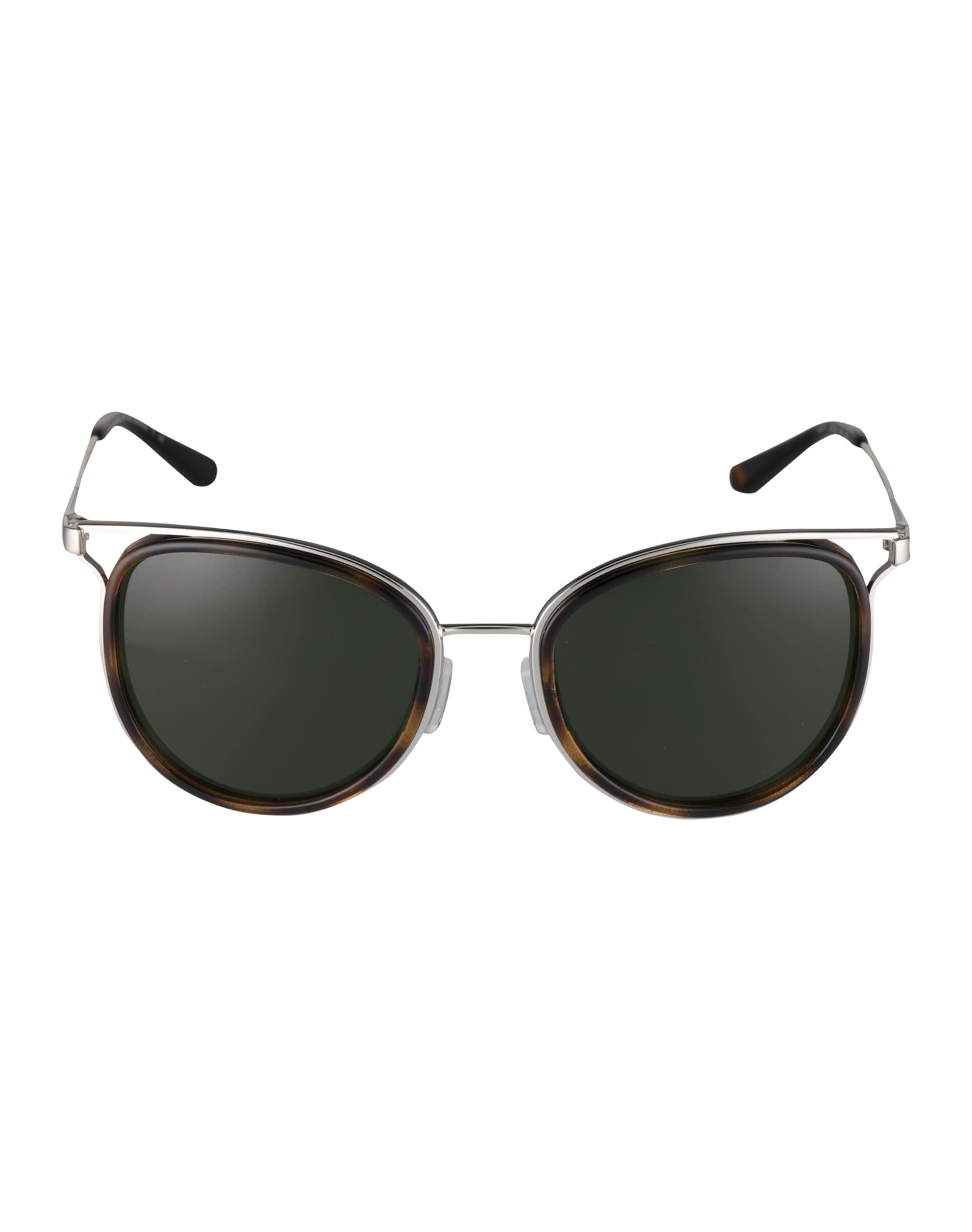 Michael Kors Okulary przeciwsłoneczne  brązowy / zielony / srebrny