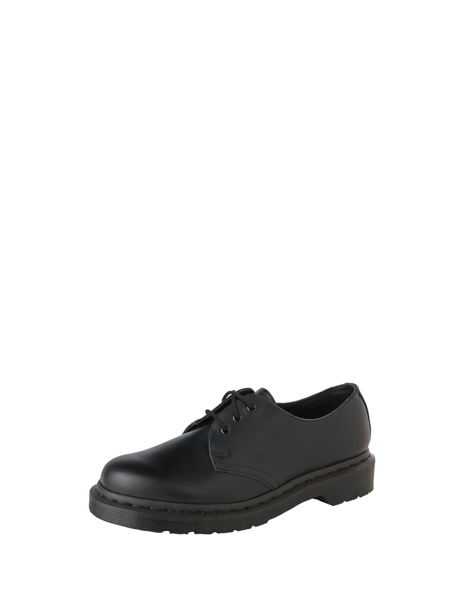 Šněrovací boty 1461 8 Eye Boot Smooth černá Dr. Martens