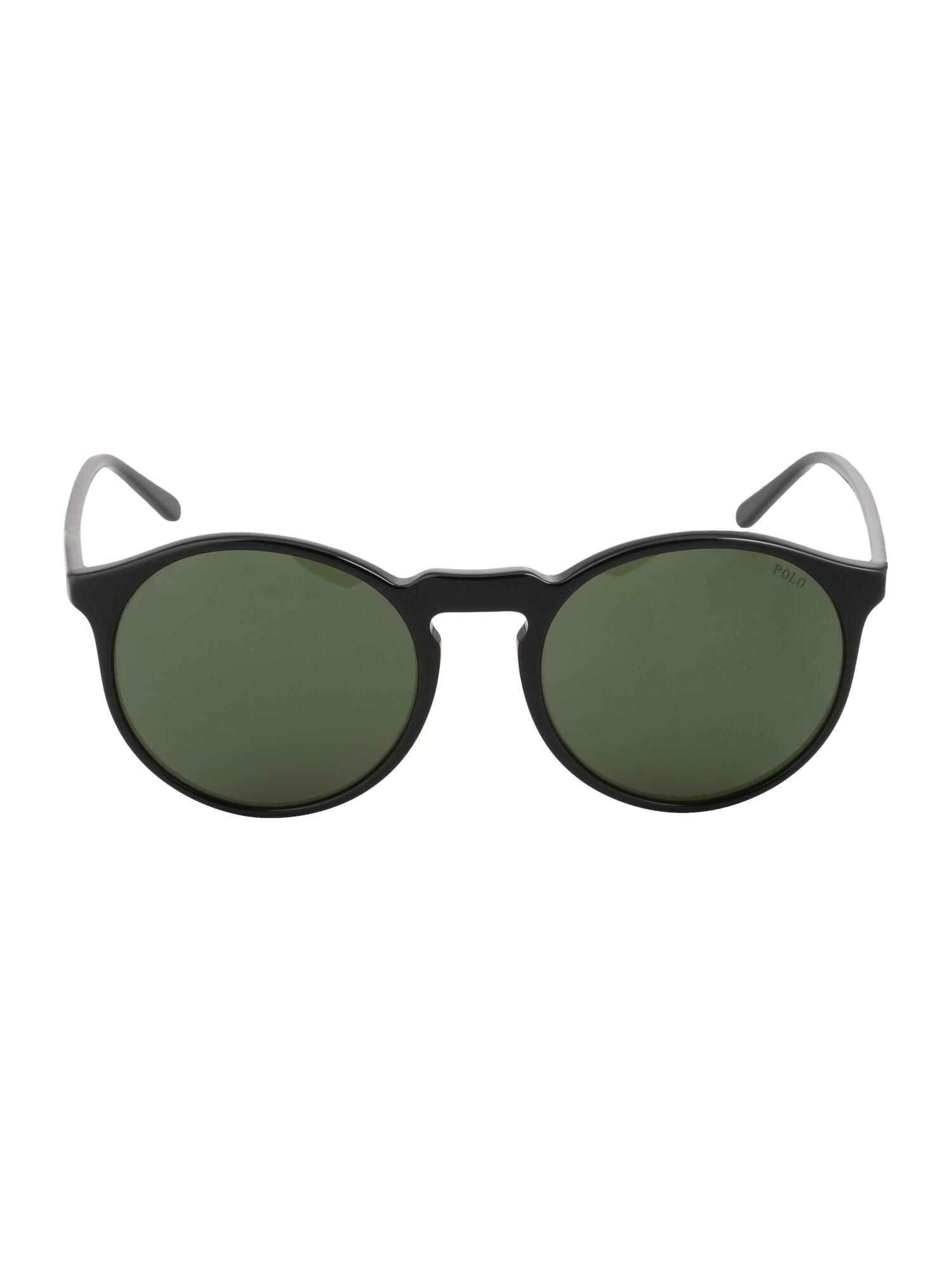 Sluneční brýle zelená černá POLO RALPH LAUREN