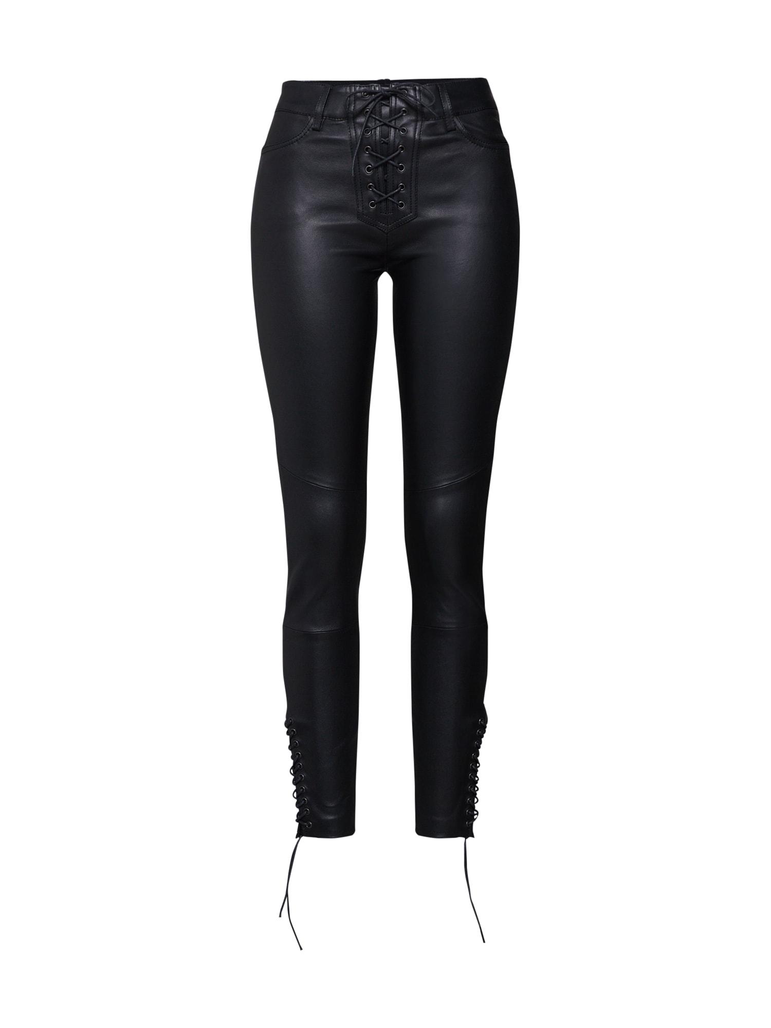 Kalhoty Polly černá Tigha