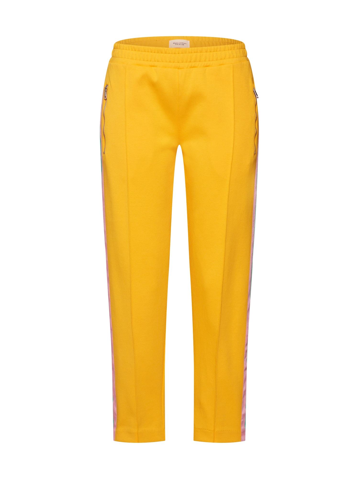 Marc OPolo DENIM Chino kalhoty žlutá oranžová Marc O'Polo DENIM