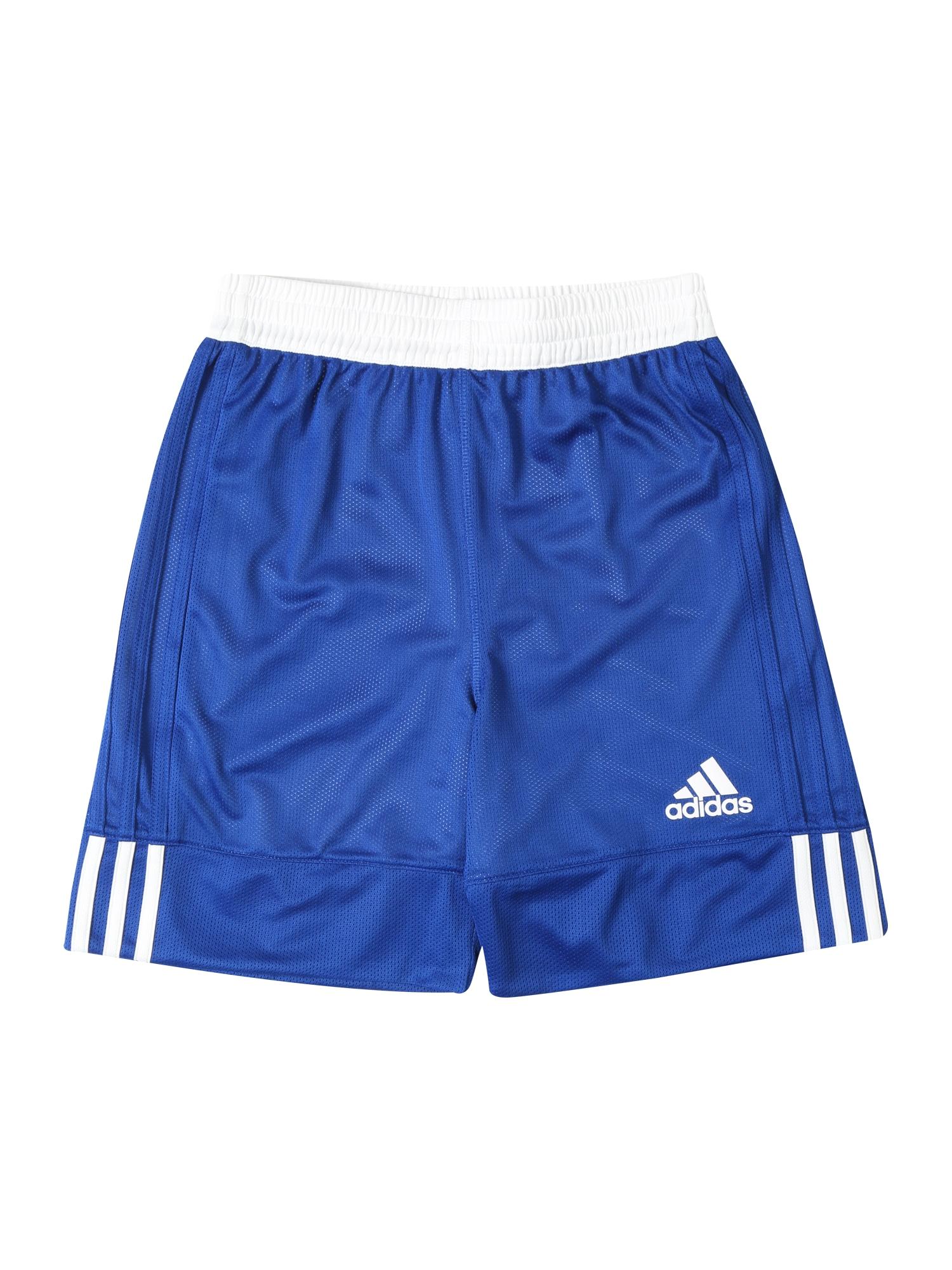 Sportovní kalhoty 3G Speed Reversible modrá bílá ADIDAS PERFORMANCE