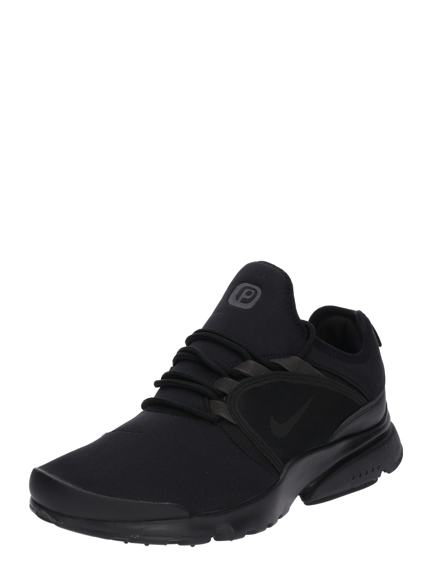Nike Sportswear, Heren Sneakers laag 'Nike Presto Fly World', zwart