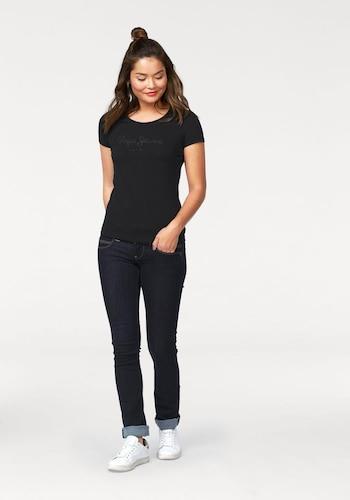 #Pepe #Jeans #Damen #´Venus´ #Straight #Leg #Jeans #Jeans #blau