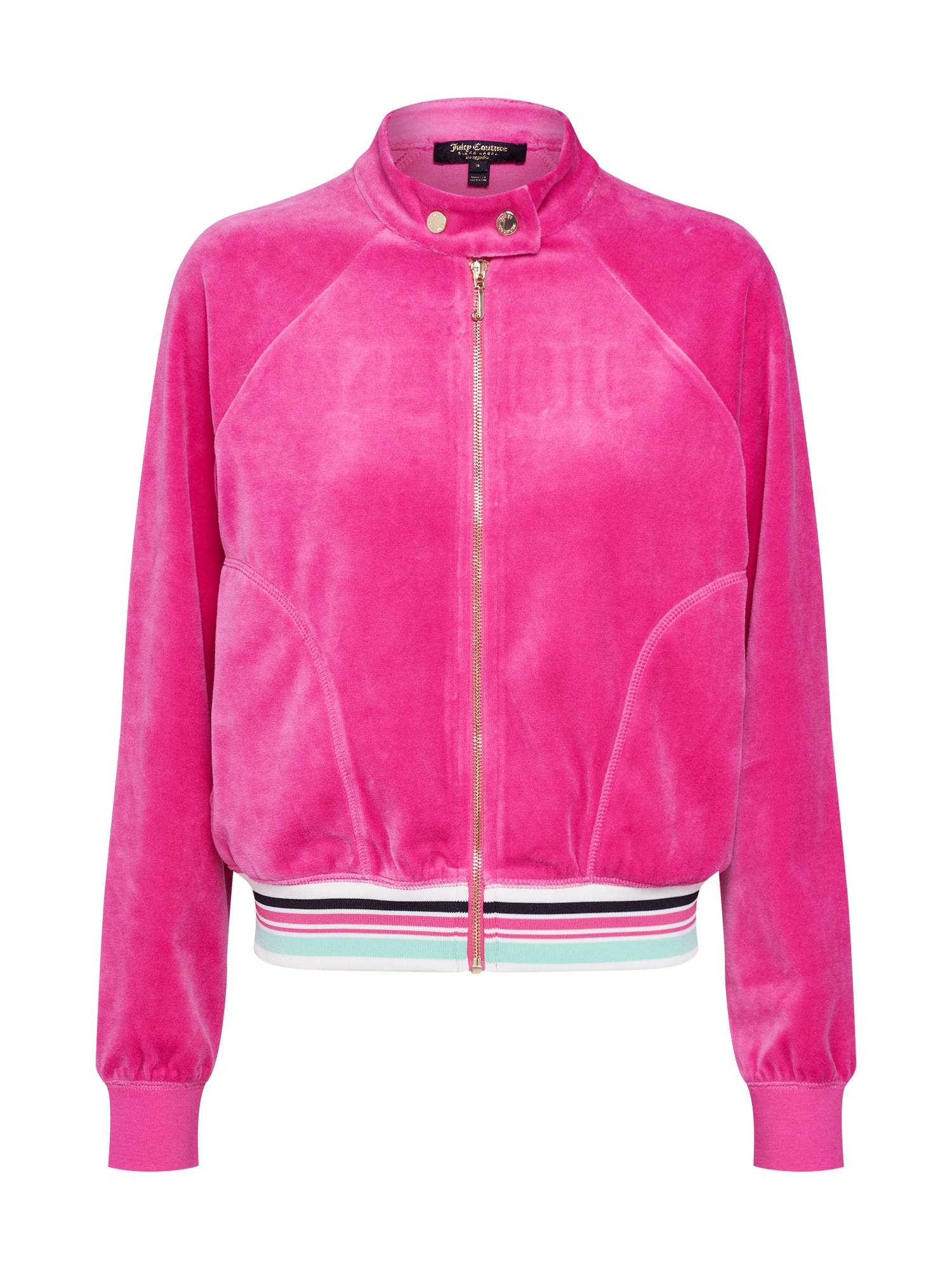 Mikina s kapucí pink Juicy Couture Black Label