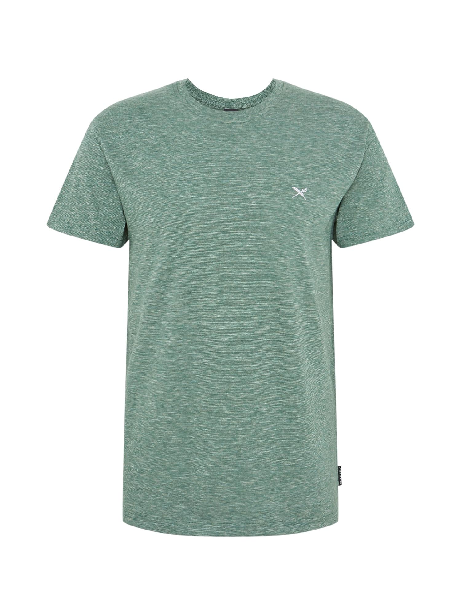 Tričko Chamisso tmavě zelená Iriedaily