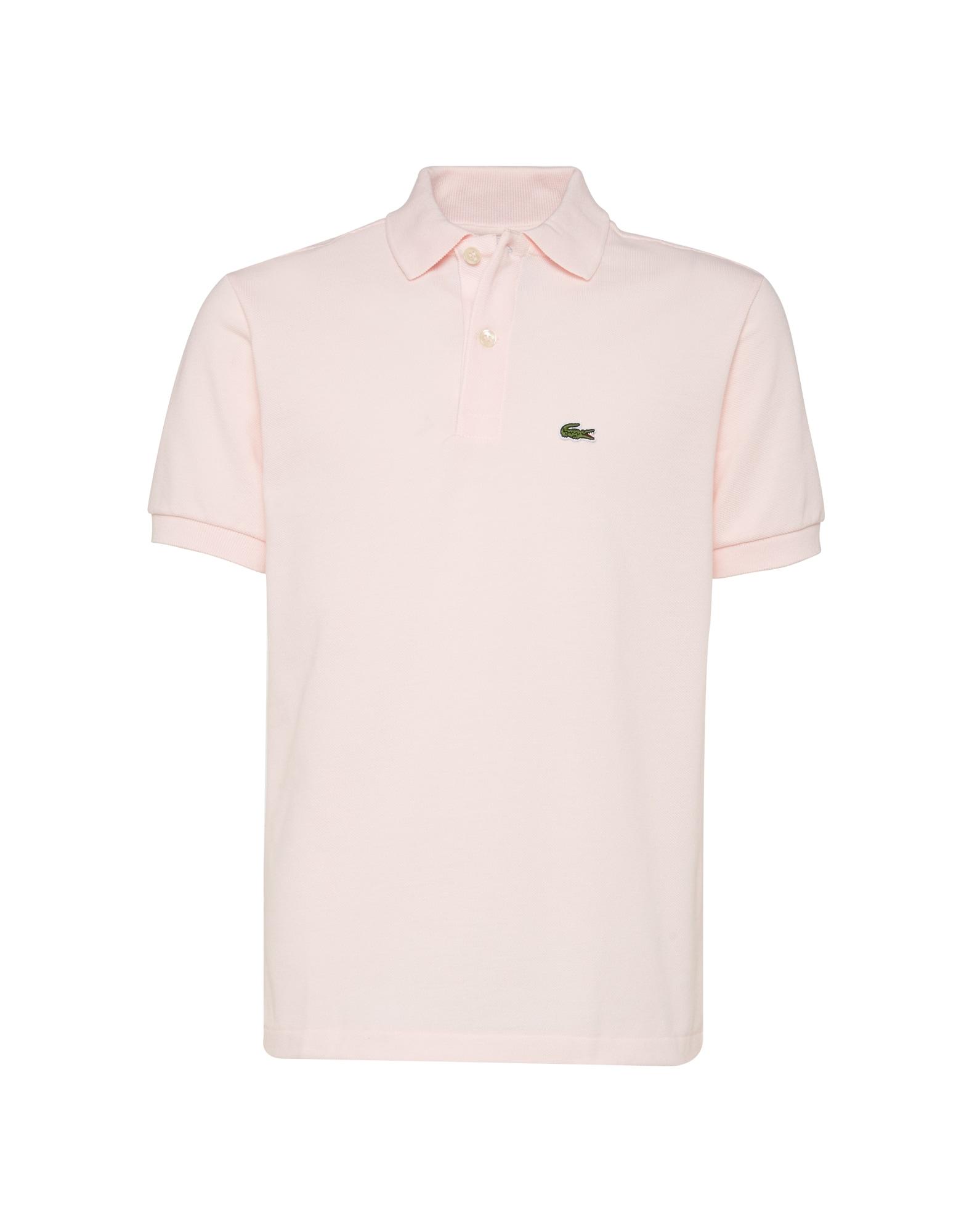 Tričko růžová LACOSTE
