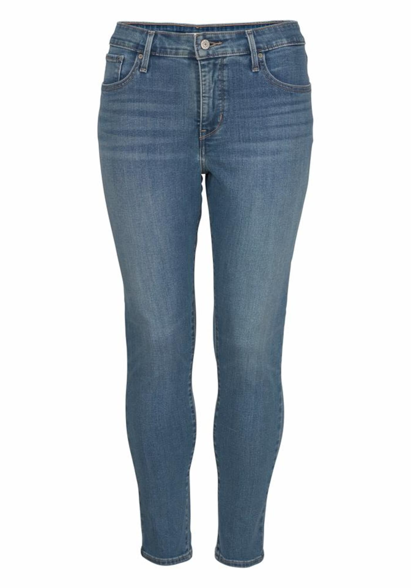 LEVI'S Dames Jeans Shaping Super Skinny 310 blauw