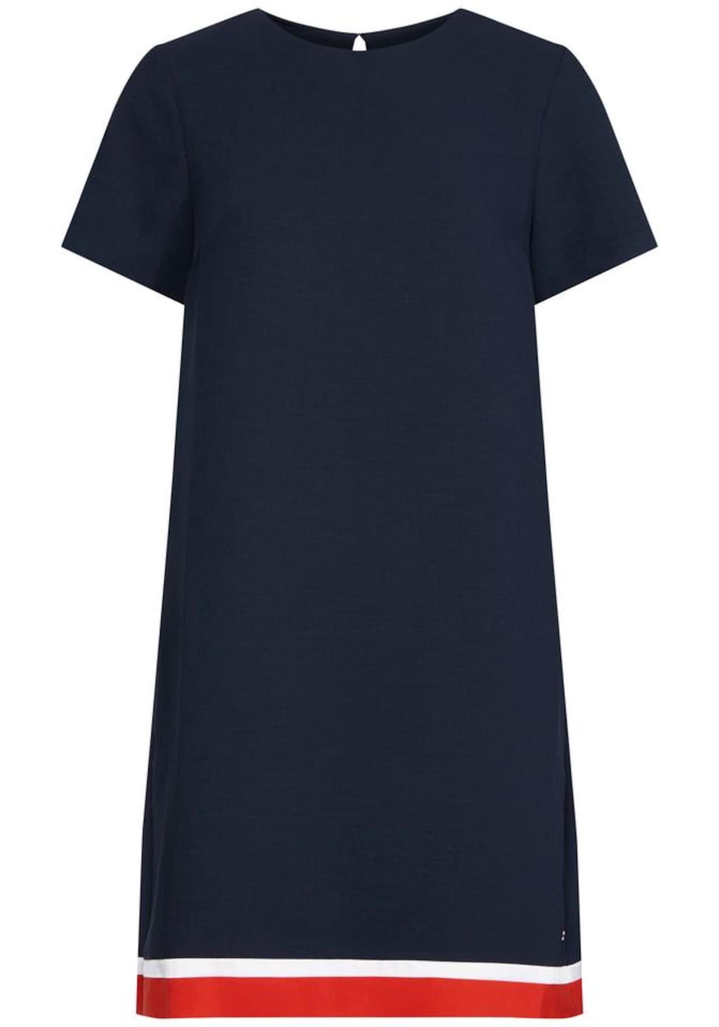 Shirtkleid | Bekleidung > Kleider > Shirtkleider | Dunkelblau - Rot - Weiß | Tommy Hilfiger