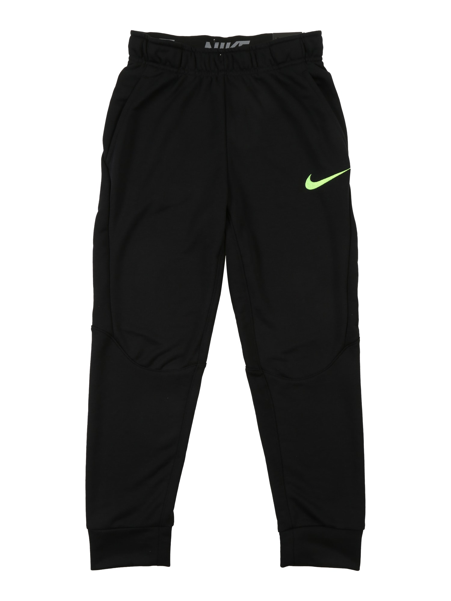 Sportovní kalhoty Dry Training Pants svítivě zelená černá NIKE