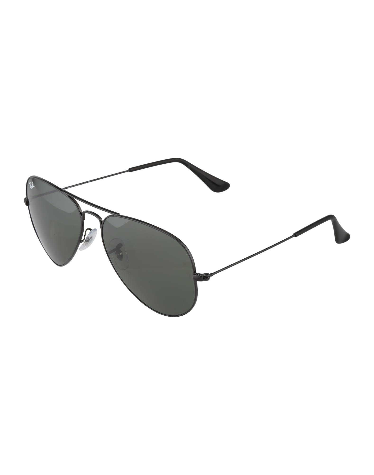 Ray-Ban Sluneční brýle 'Aviator'  zelená / černá