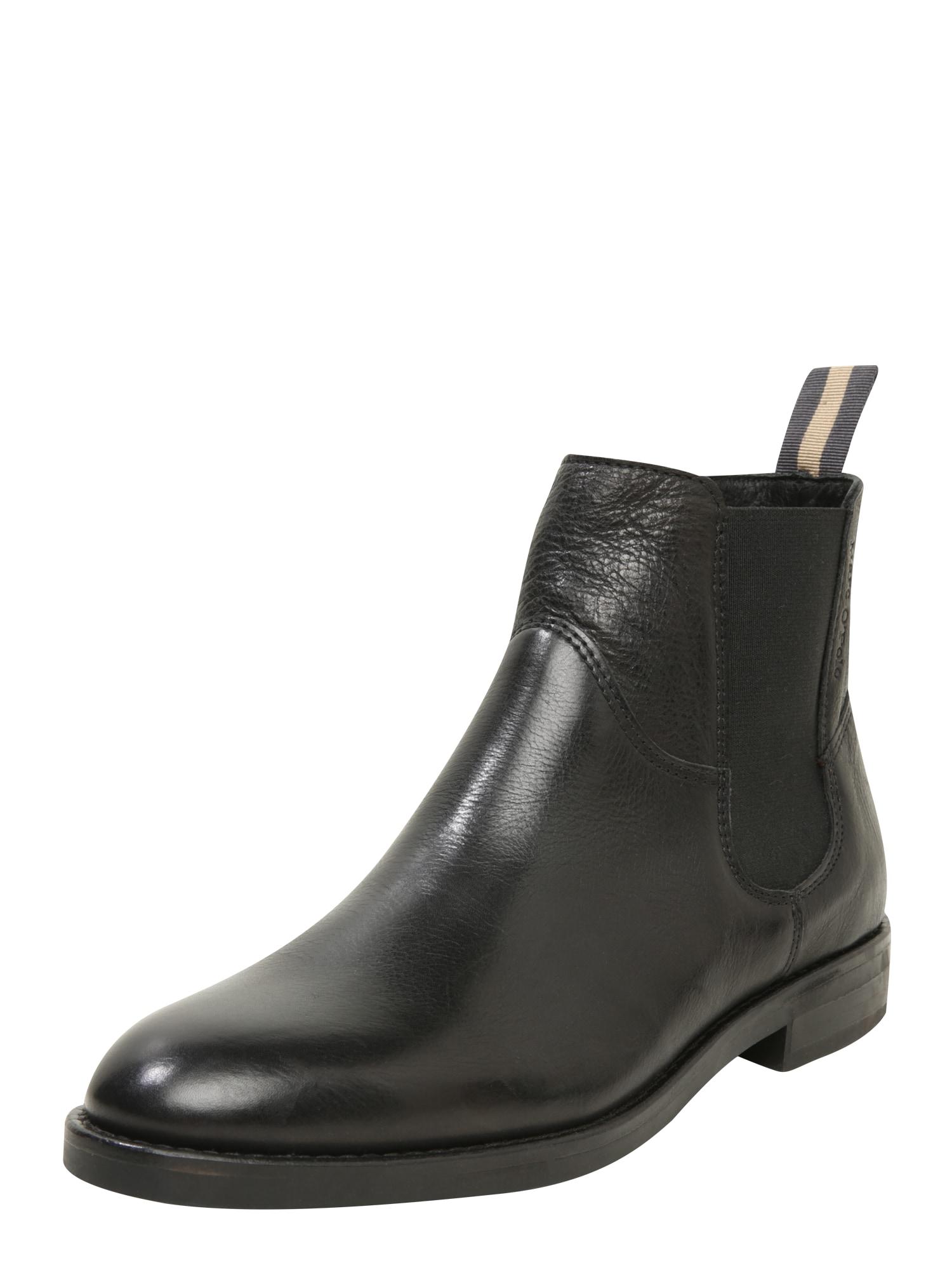 Marc OPolo Chelsea boty světle béžová černá Marc O'Polo
