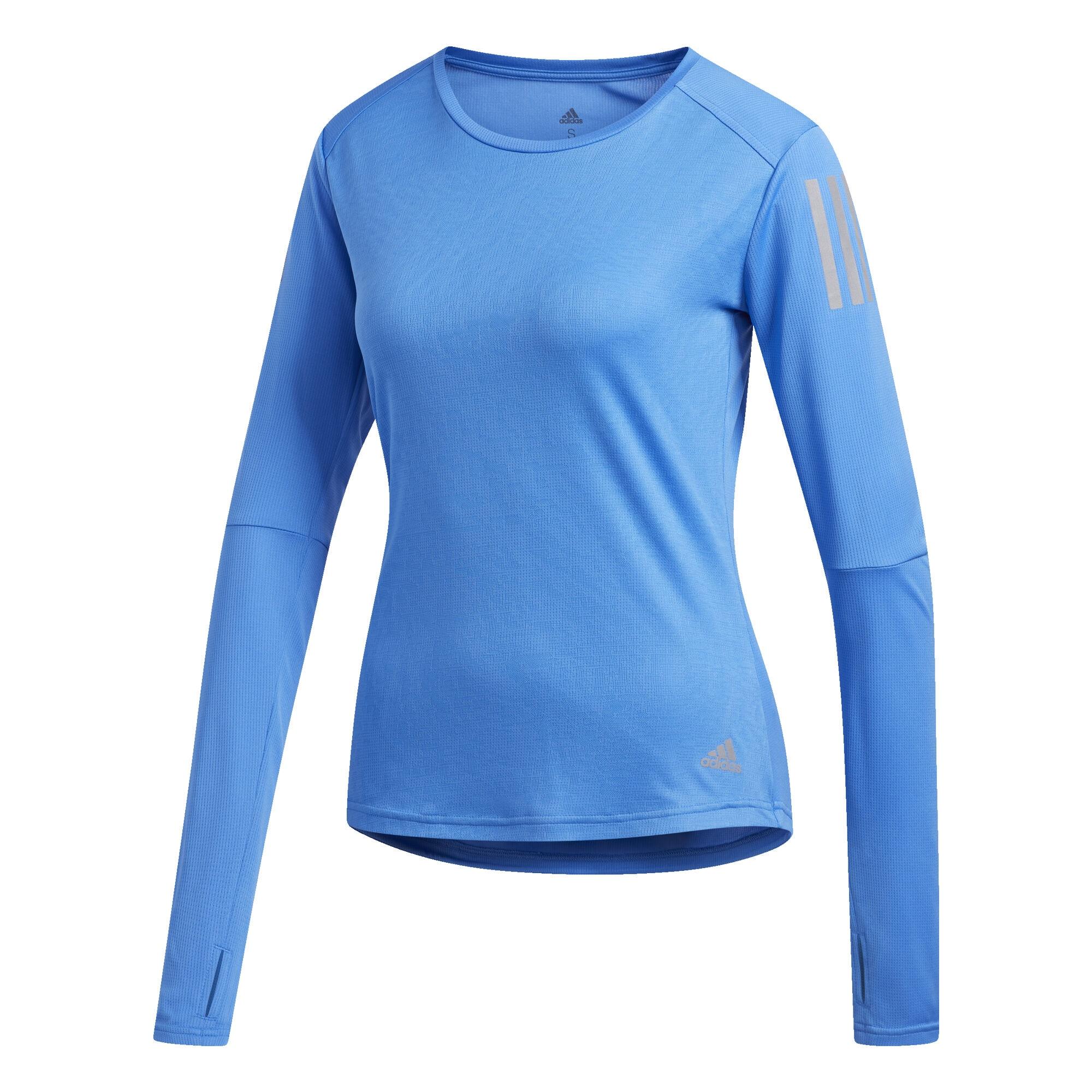 Shirt 'Own the Run' | Sportbekleidung > Sportshirts > Laufshirts | Blau | ADIDAS PERFORMANCE