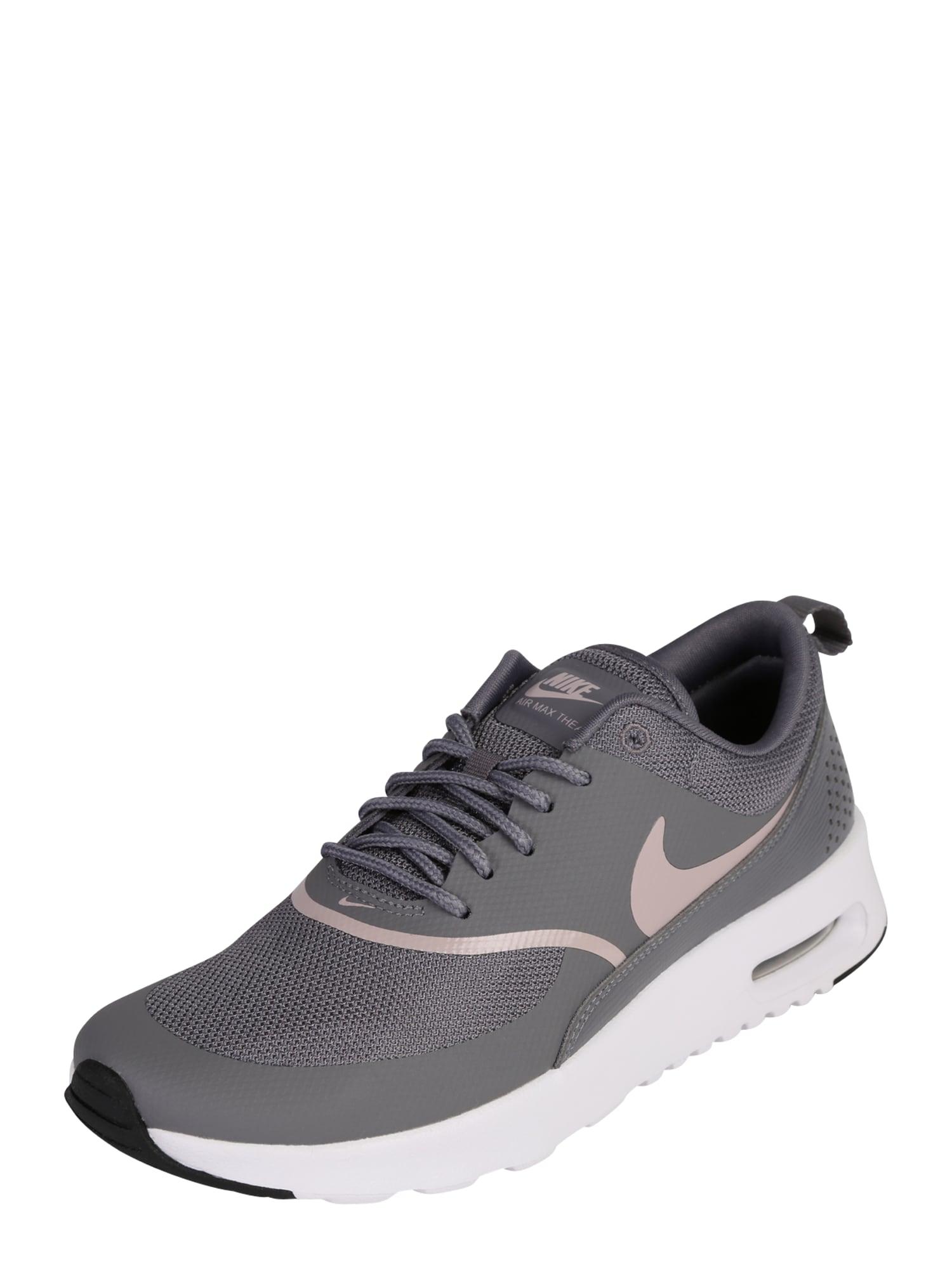 Nike Sportswear, Dames Sneakers laag 'AIR MAX THEA', grijs / rosa