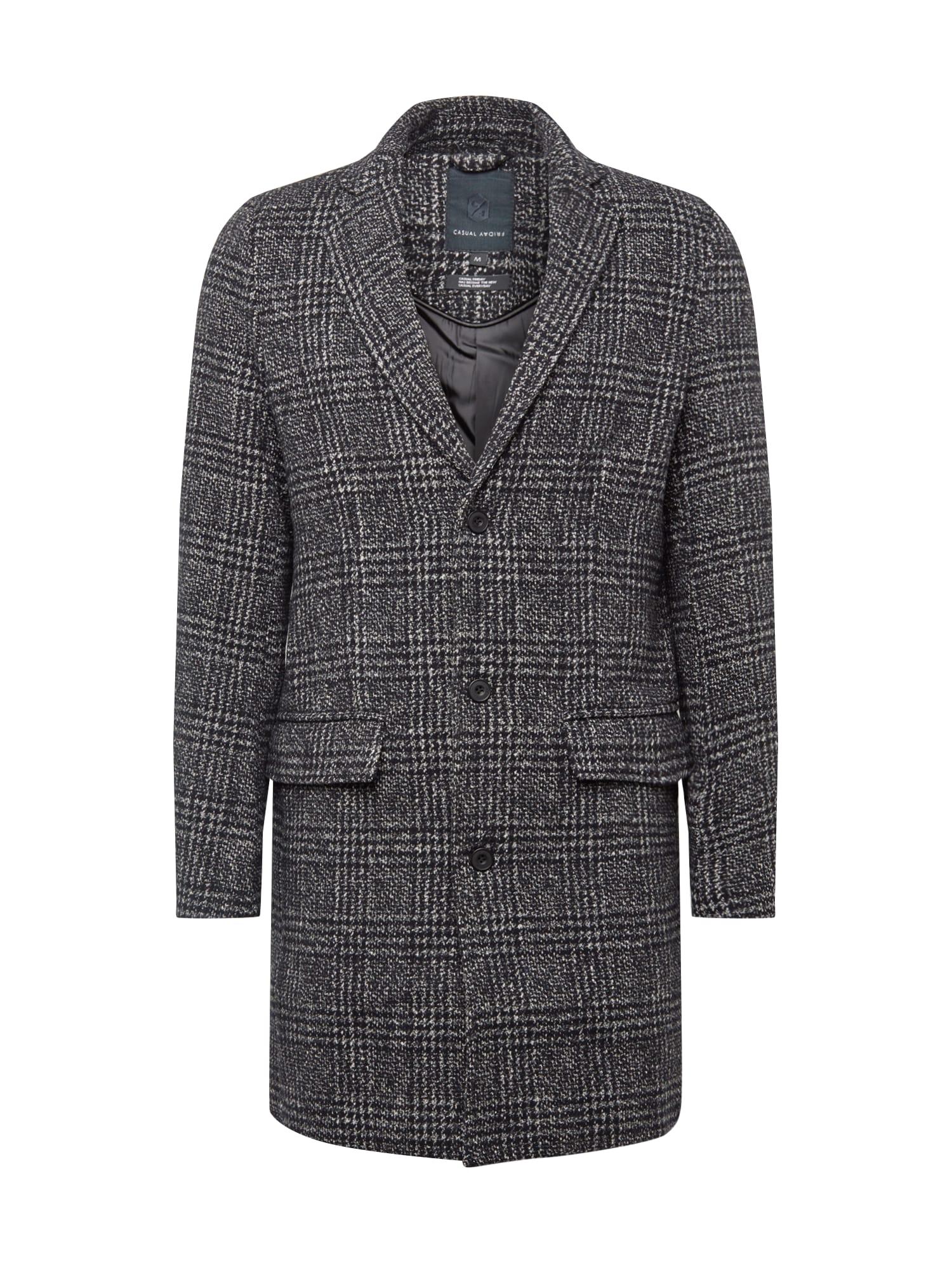 Přechodný kabát šedá Casual Friday