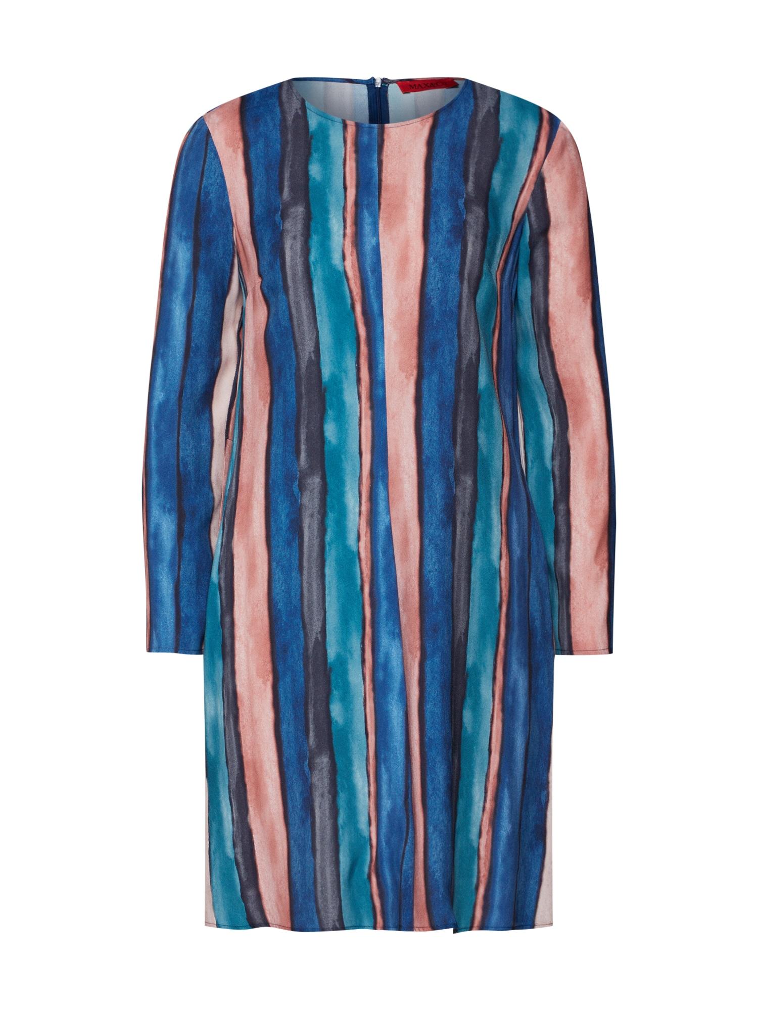 MAX&Co. Šaty 'CAPPERO'  modrá