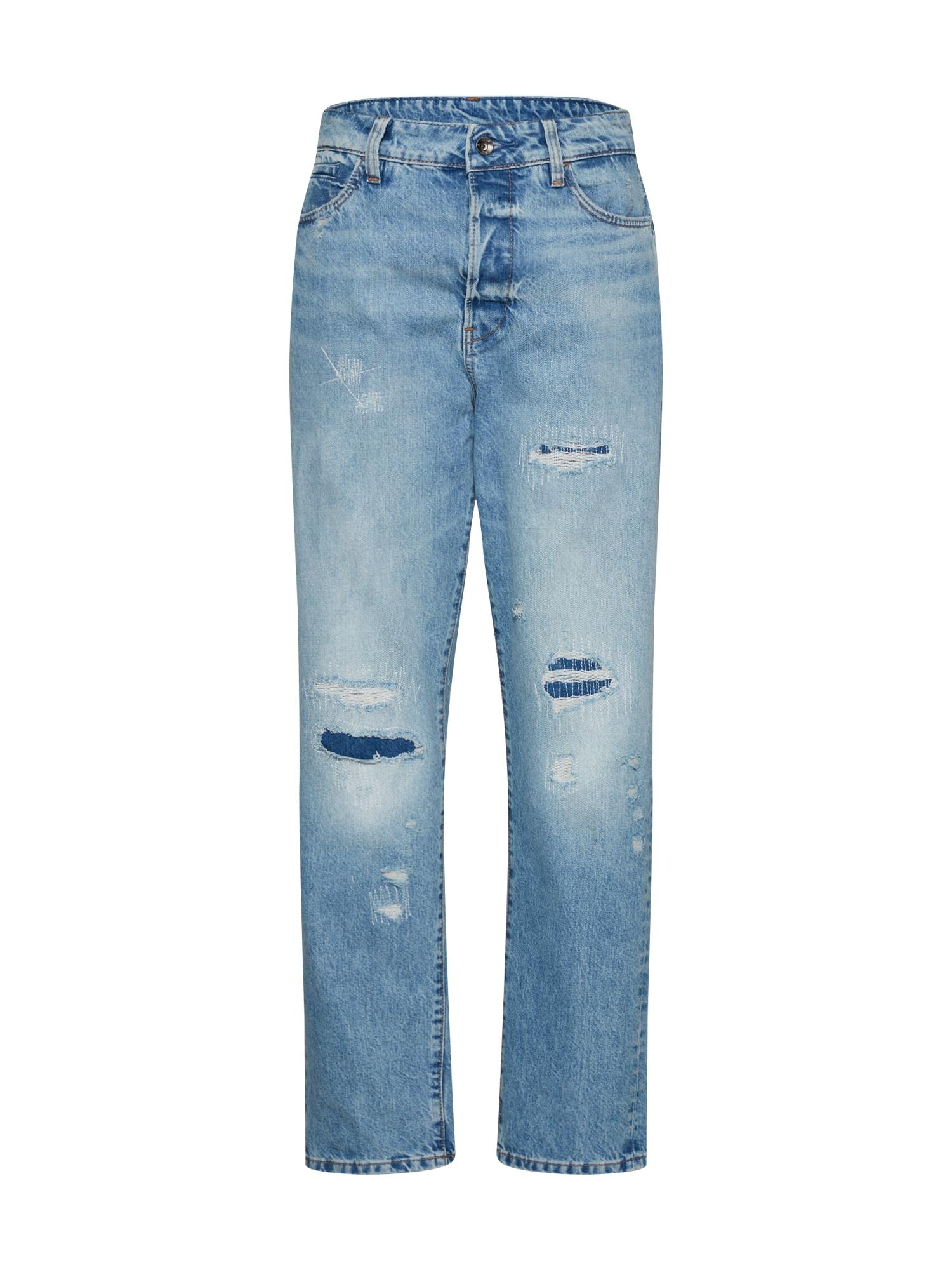 G-STAR RAW Dames Jeans Midge S High Boyfriend Wmn blauw denim