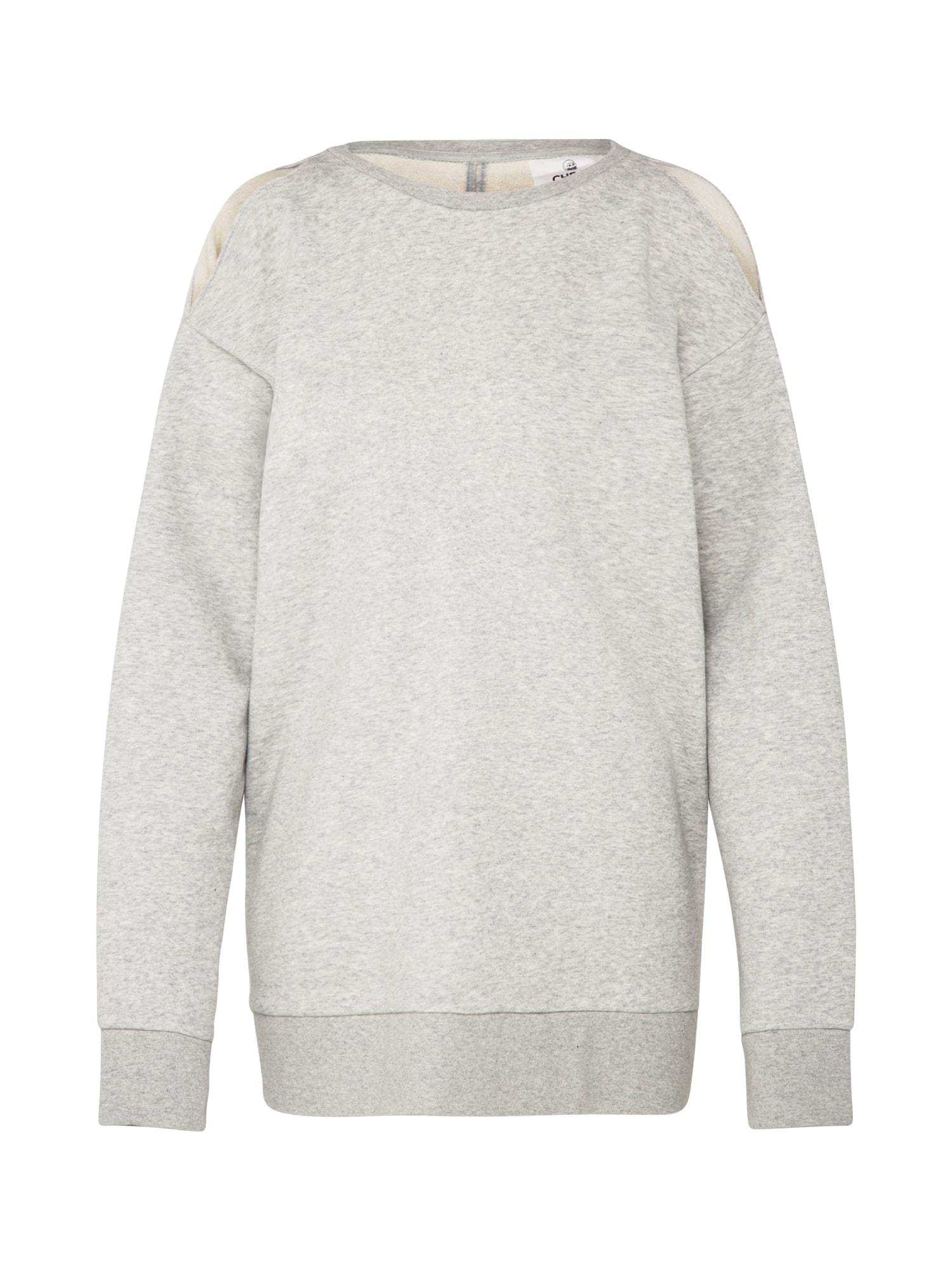 CHEAP MONDAY Dames Sweatshirt Dome sweat grijs