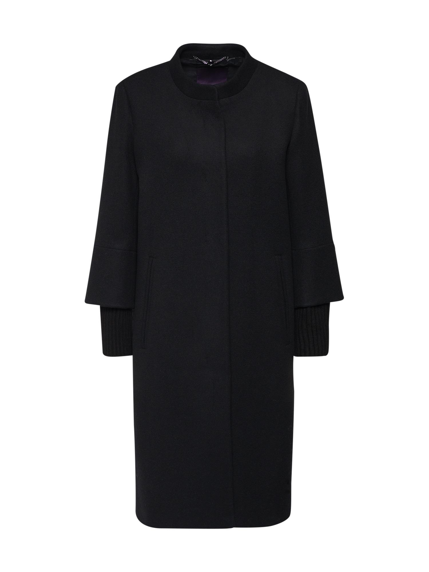 Přechodný kabát 92028 černá LAUREL
