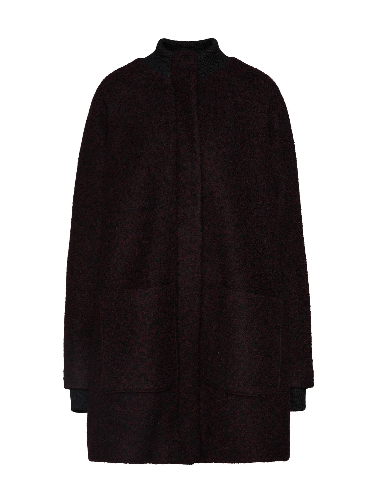 Přechodný kabát Gailey švestková BROADWAY NYC FASHION