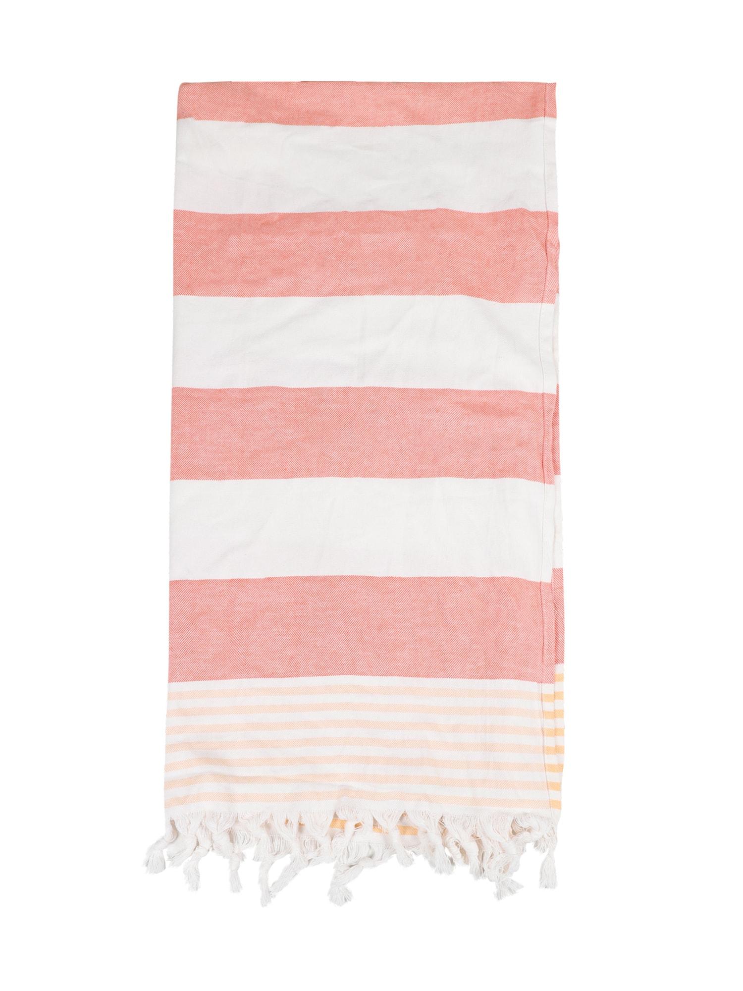 Plážový ručník Cora oranžová bílá ABOUT YOU