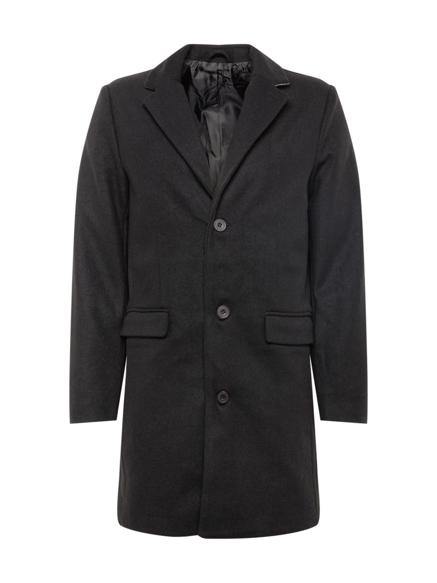 Přechodný kabát černá Casual Friday