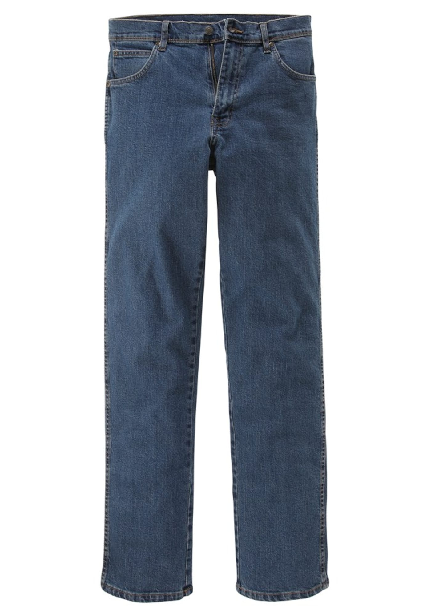 WRANGLER Heren Jeans Durable blue denim