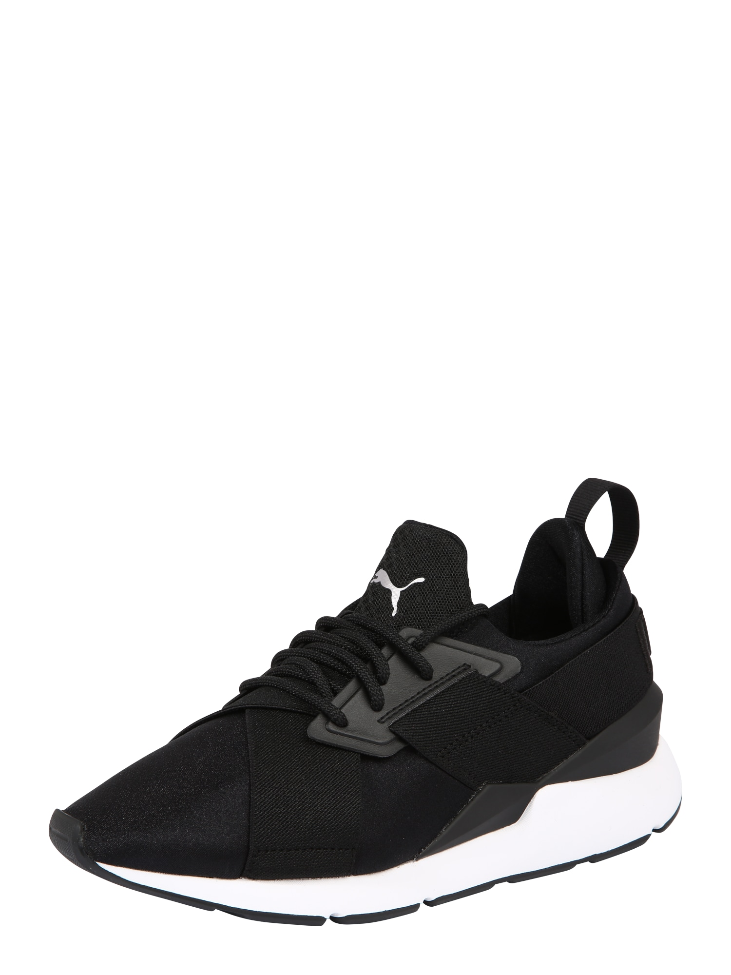 PUMA, Dames Sneakers laag 'Muse Satin Ep Wn's', zwart