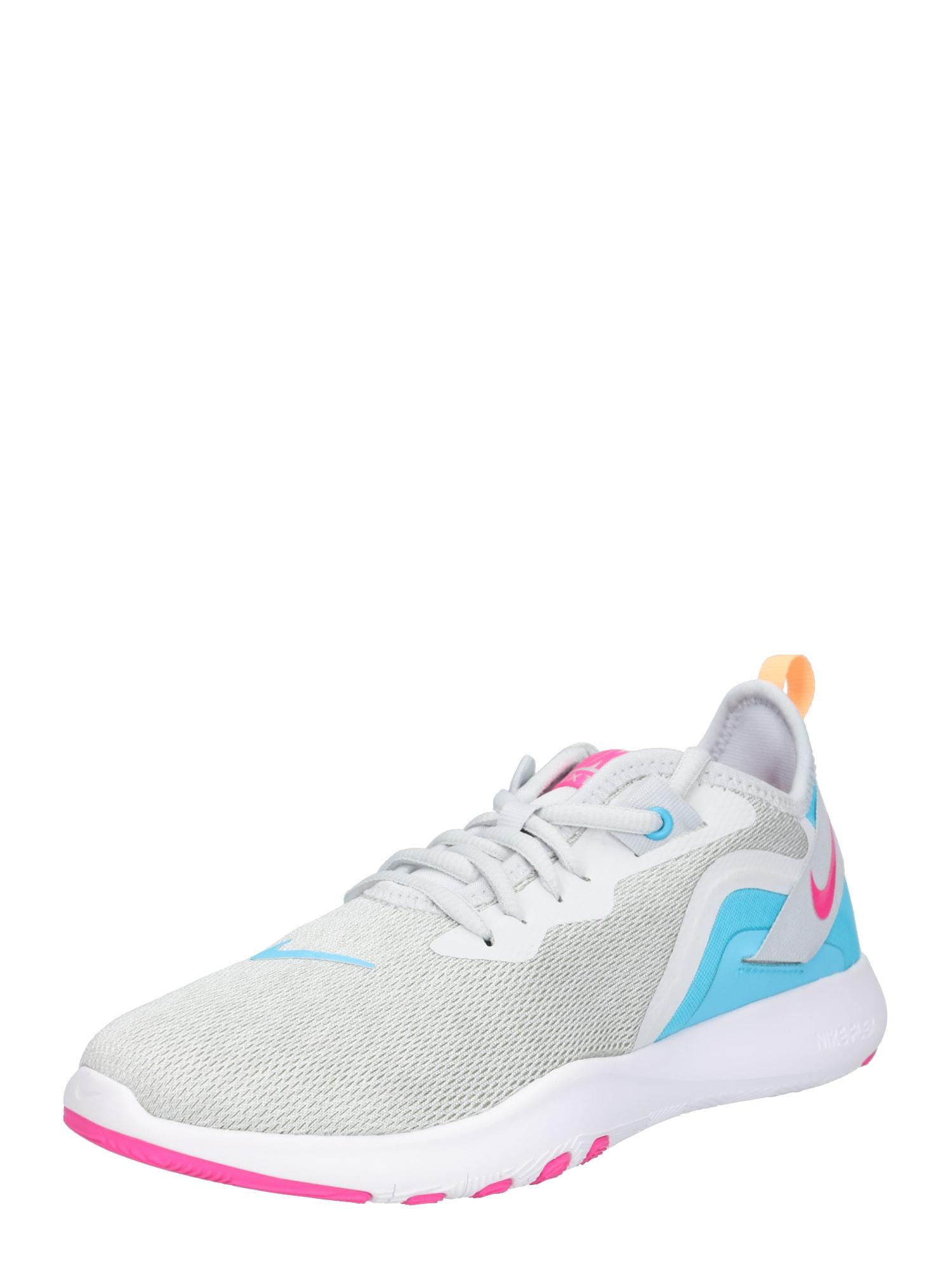 Sportovní boty Nike Flex TR 9 modrá šedá pink bílá NIKE