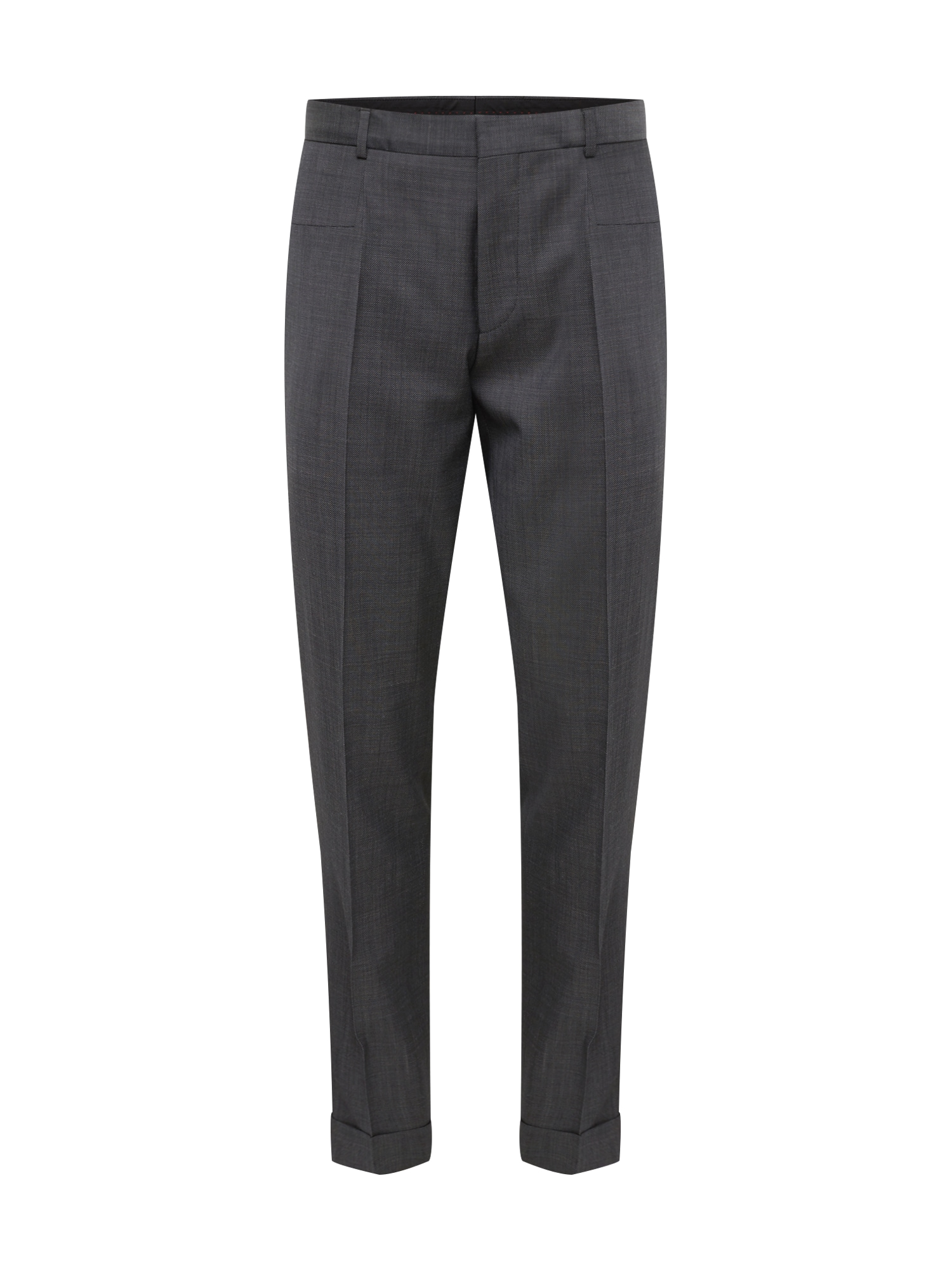Kalhoty s puky Gabriel193F1 tmavě šedá HUGO