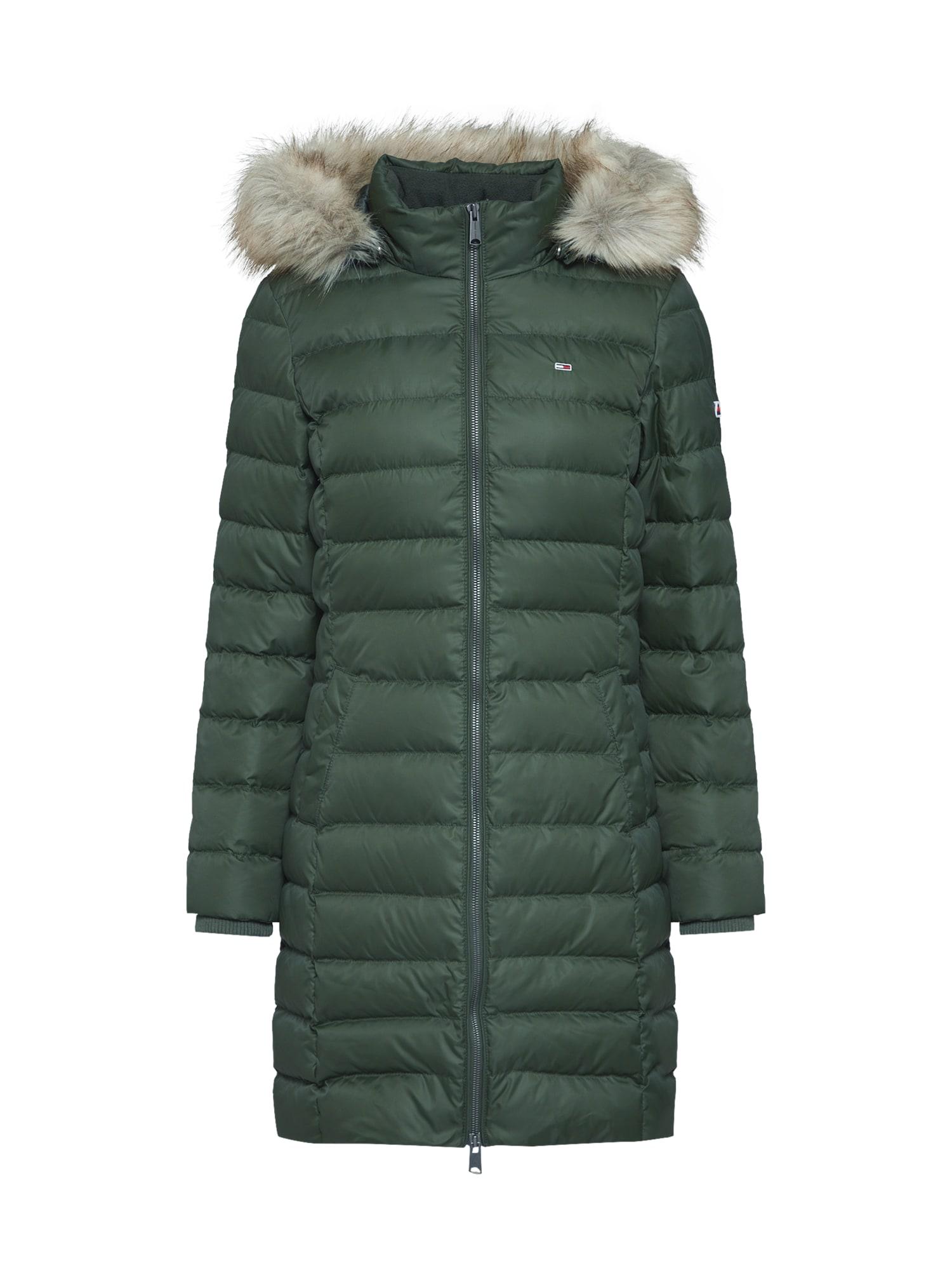 Péřové a prošívané kabáty