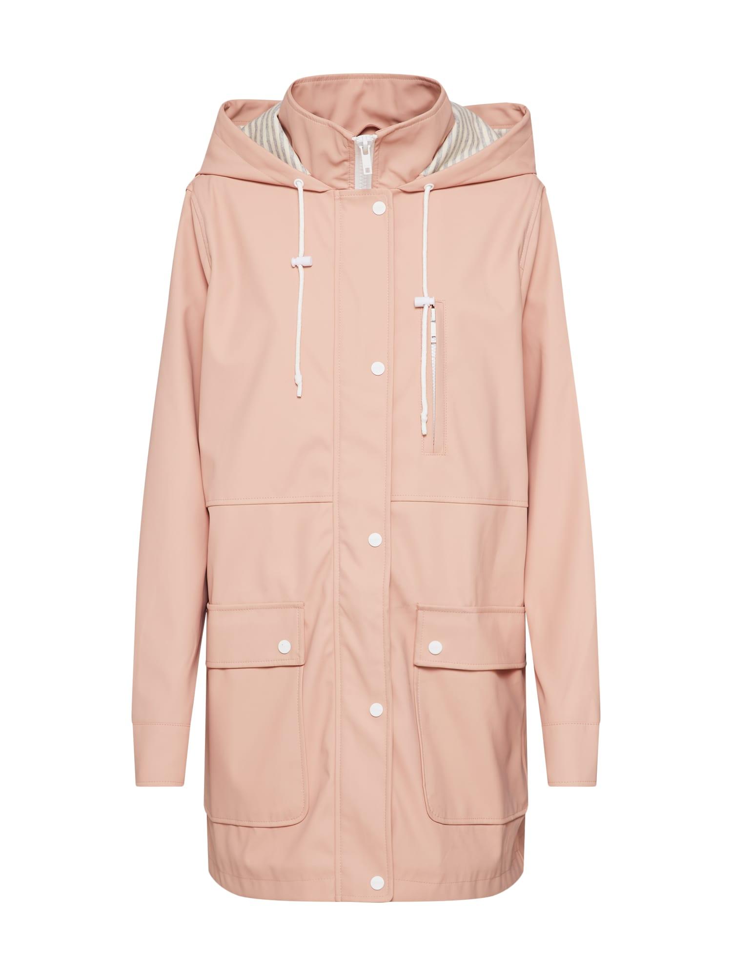 Přechodný kabát růžová Review