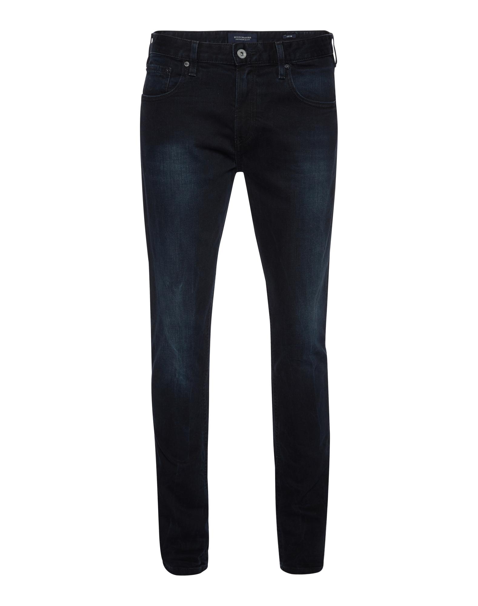 SCOTCH  and  SODA Heren Jeans Skim Jet Set donkerblauw