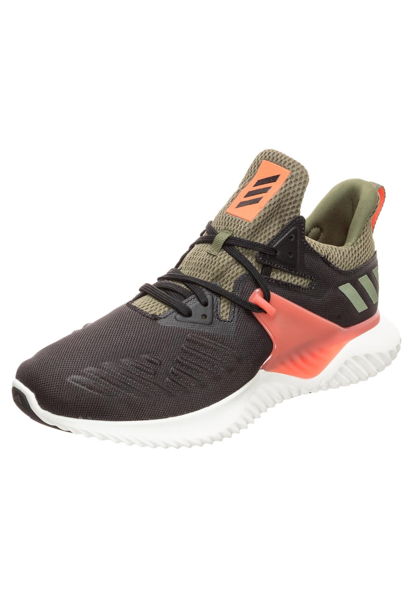 Běžecká obuv Alphabounce Beyond khaki oranžová černá ADIDAS PERFORMANCE