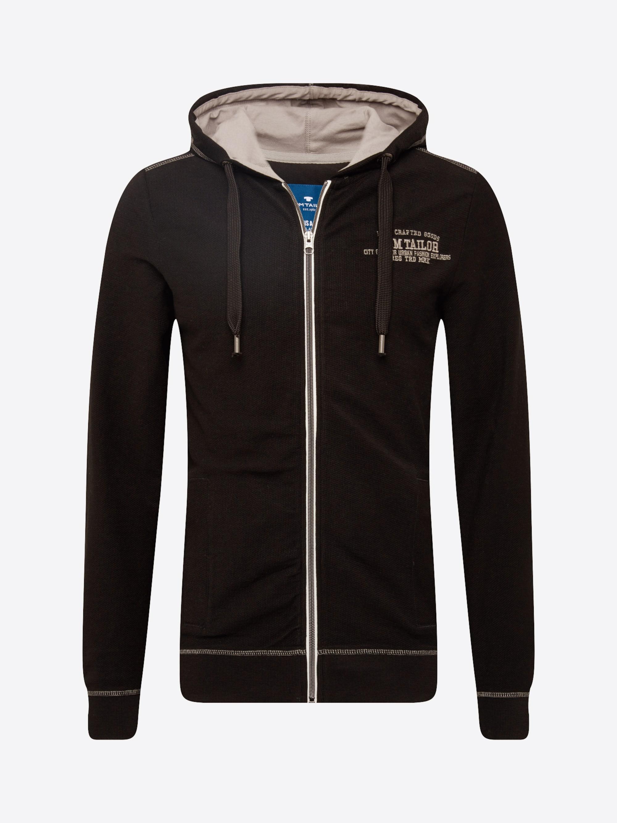 Sweatvest 'sweat jacket with hood'