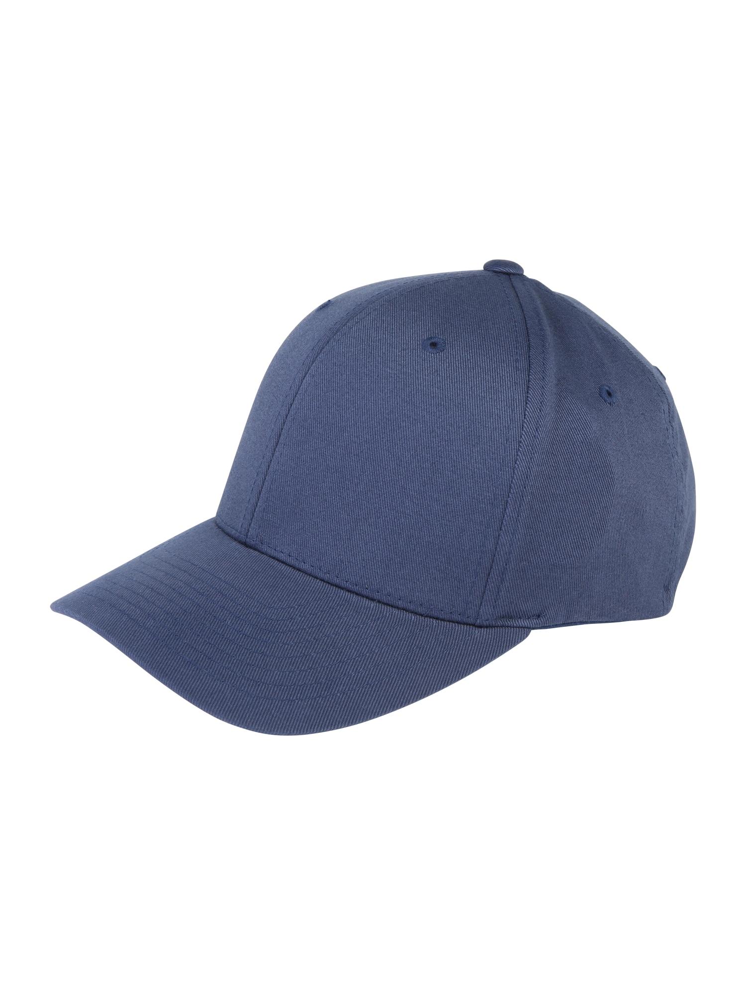 Kšiltovka Wooly Combed námořnická modř Flexfit