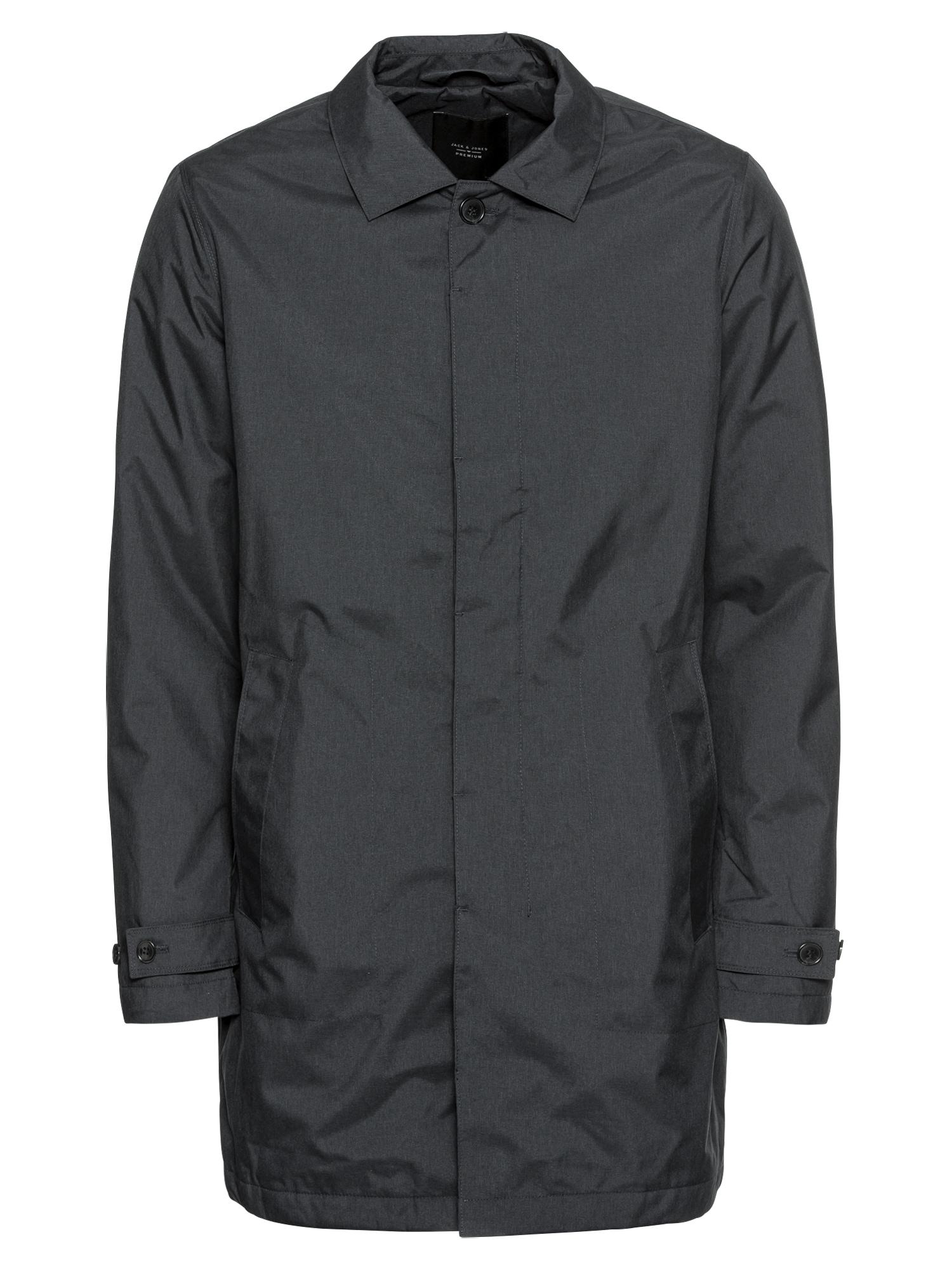 Přechodný kabát námořnická modř JACK & JONES