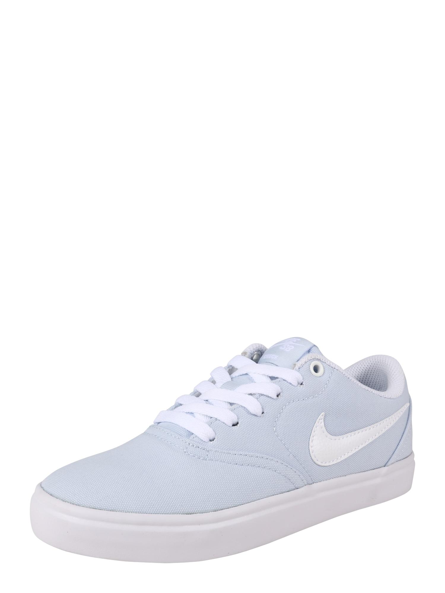Sportovní boty Solarsoft Canvas modrá bílá Nike SB
