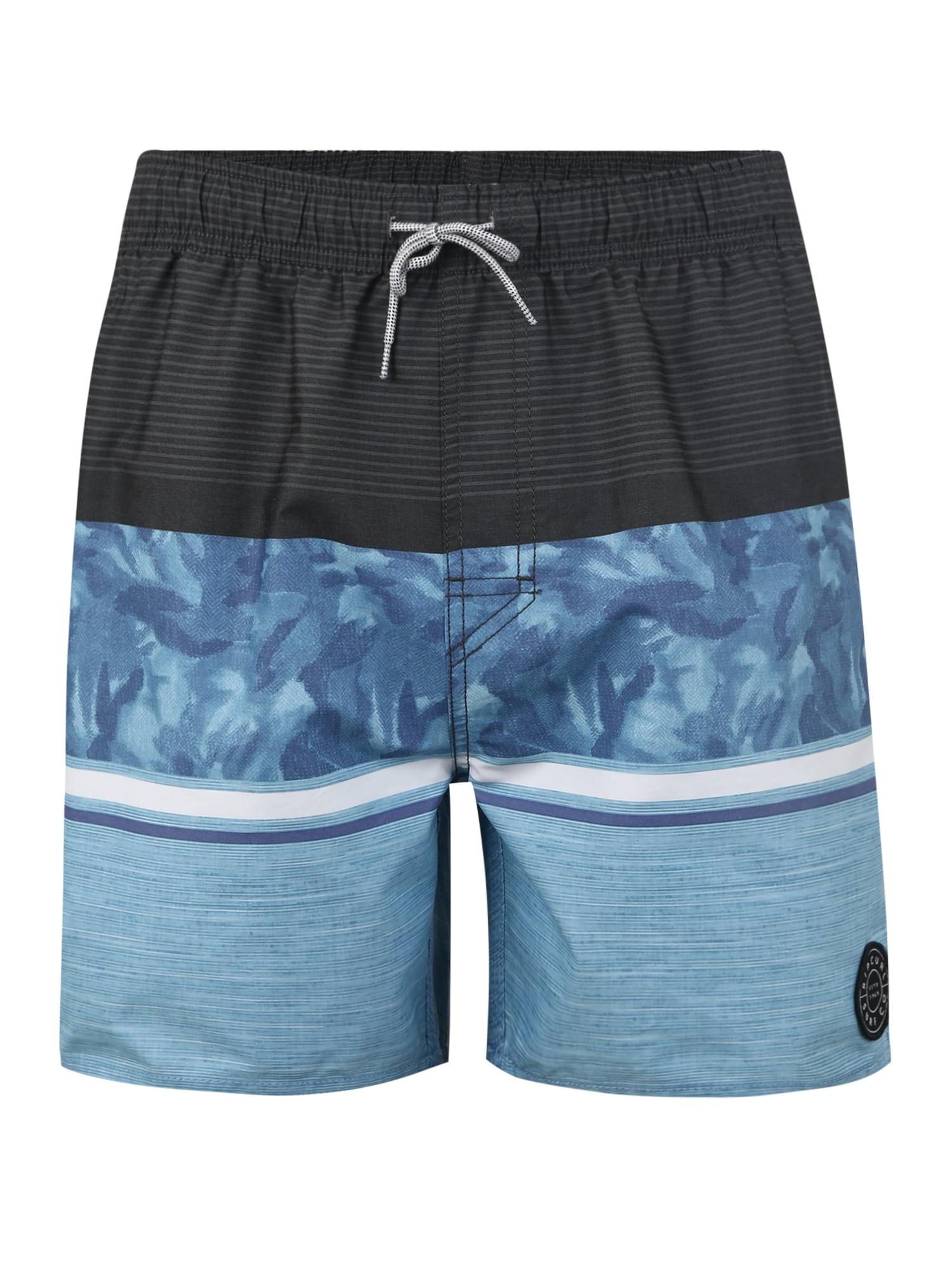 Plavecké šortky VOLLEY TEAM SPIRIT 16 světlemodrá tmavě modrá RIP CURL