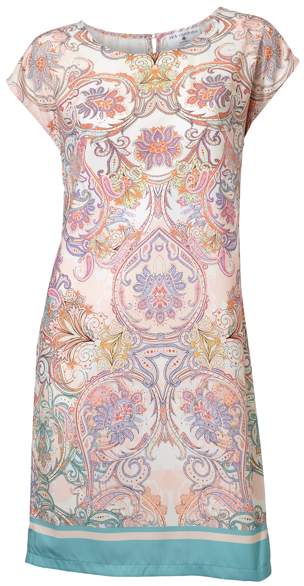 Druckkleid | Bekleidung > Kleider > Druckkleider | Lila - Pink - Weiß | heine